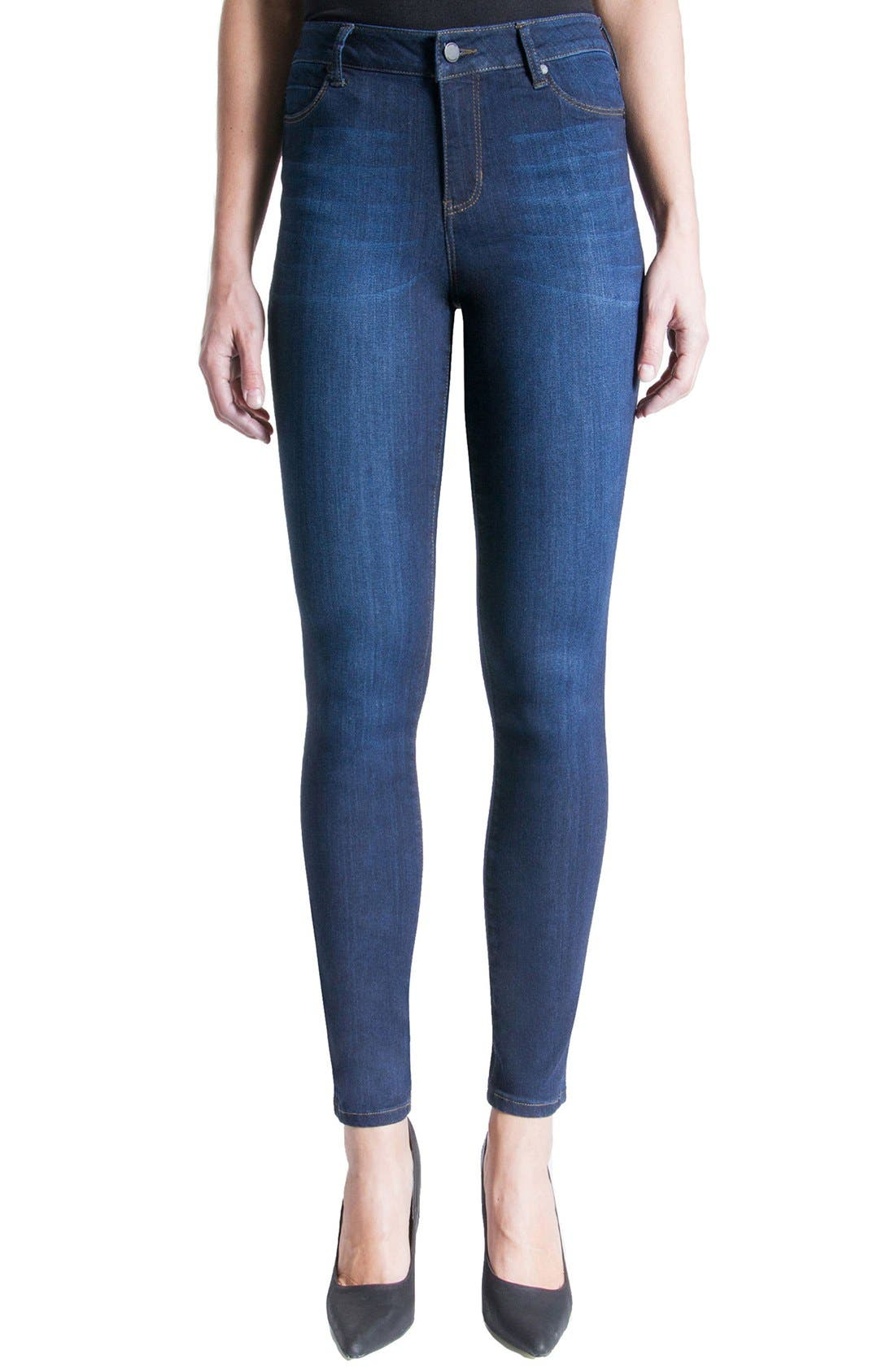 LIVERPOOL JEANS COMPANY Abby Mid Rise Soft Stretch Skinny Jeans