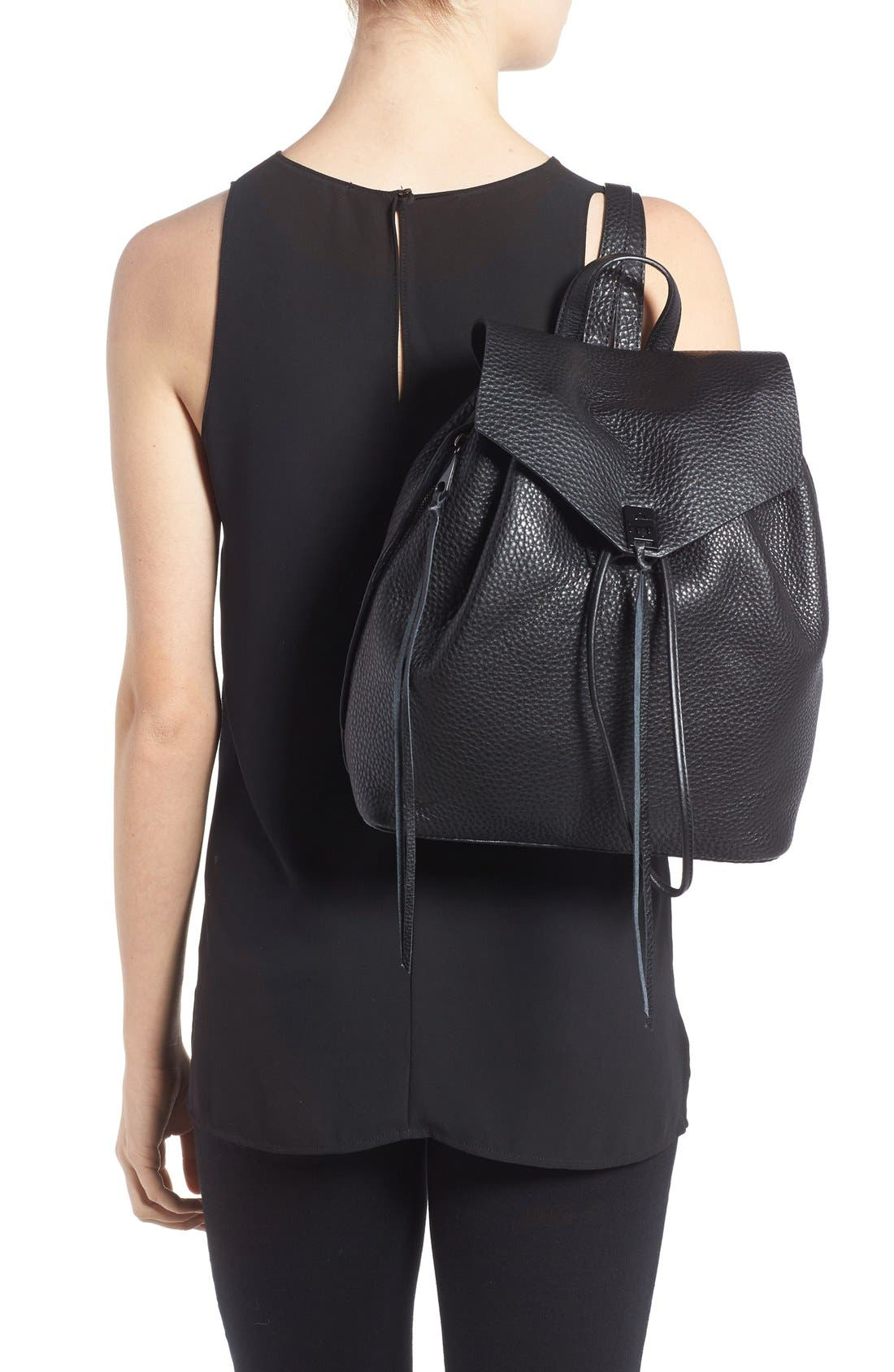 Alternate Image 2  - Rebecca Minkoff Darren Leather Backpack