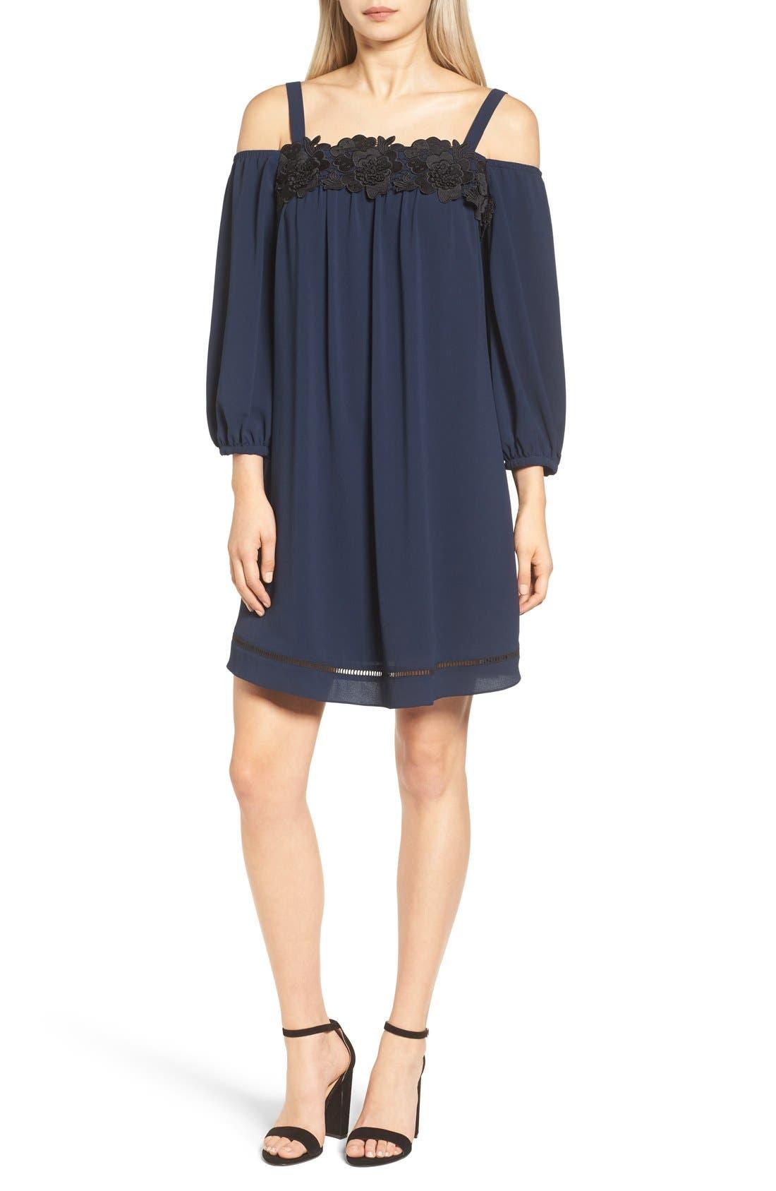 Alternate Image 1 Selected - Chelsea28 Cold Shoulder Dress