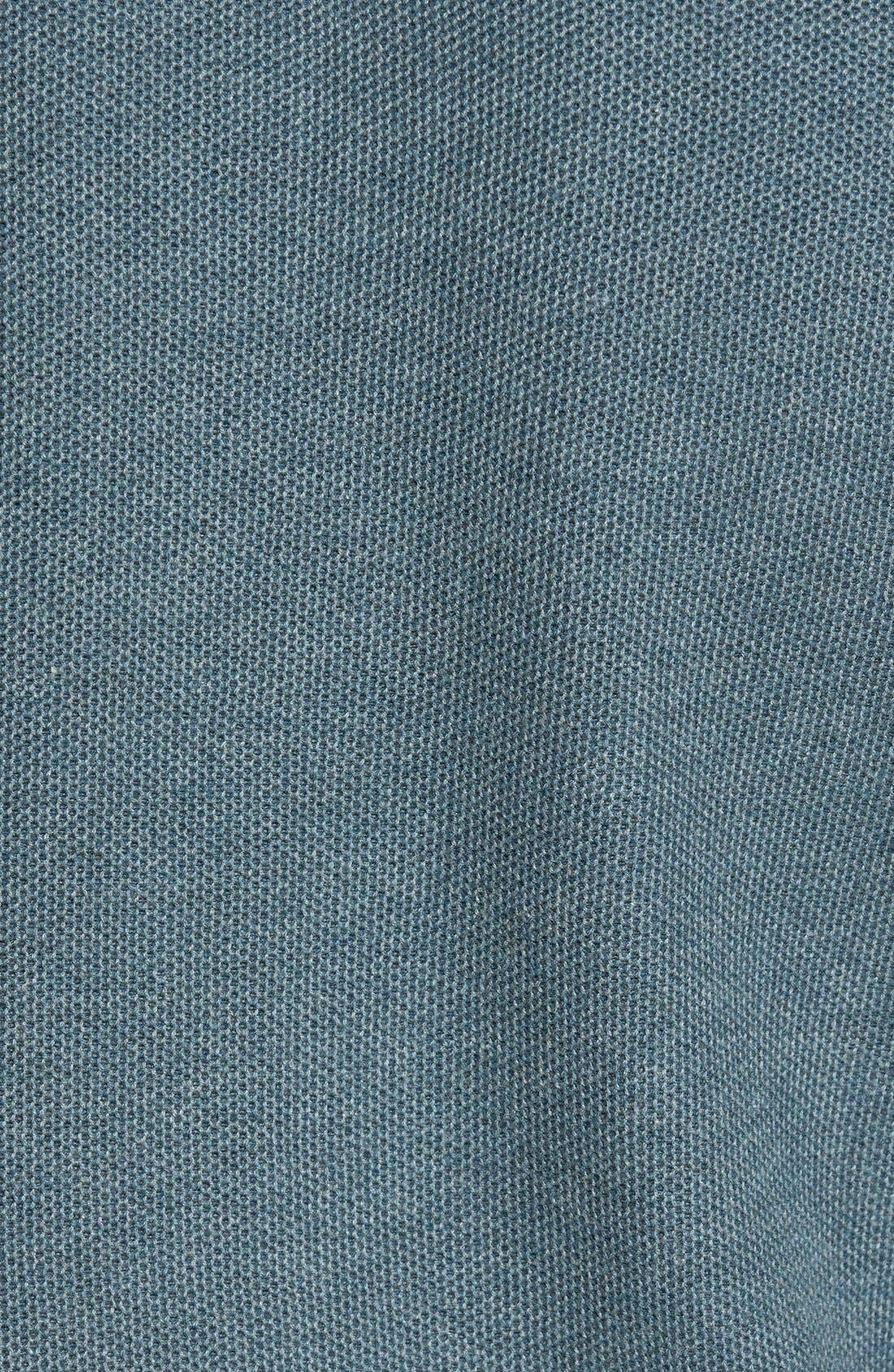 Make Mine a Double Reversible Quarter Zip Sweater,                             Alternate thumbnail 5, color,                             Seaway