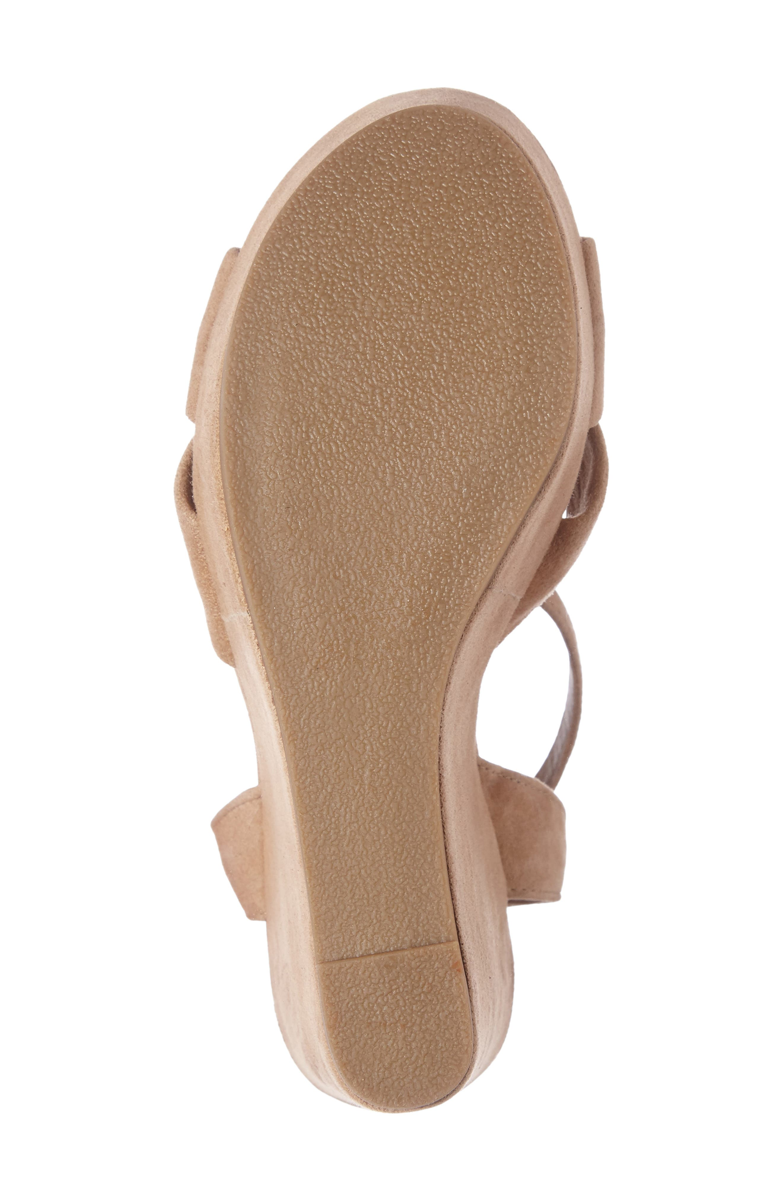 Alternate Image 4  - Steve Madden Tylie Platform Wedge Sandal (Women)