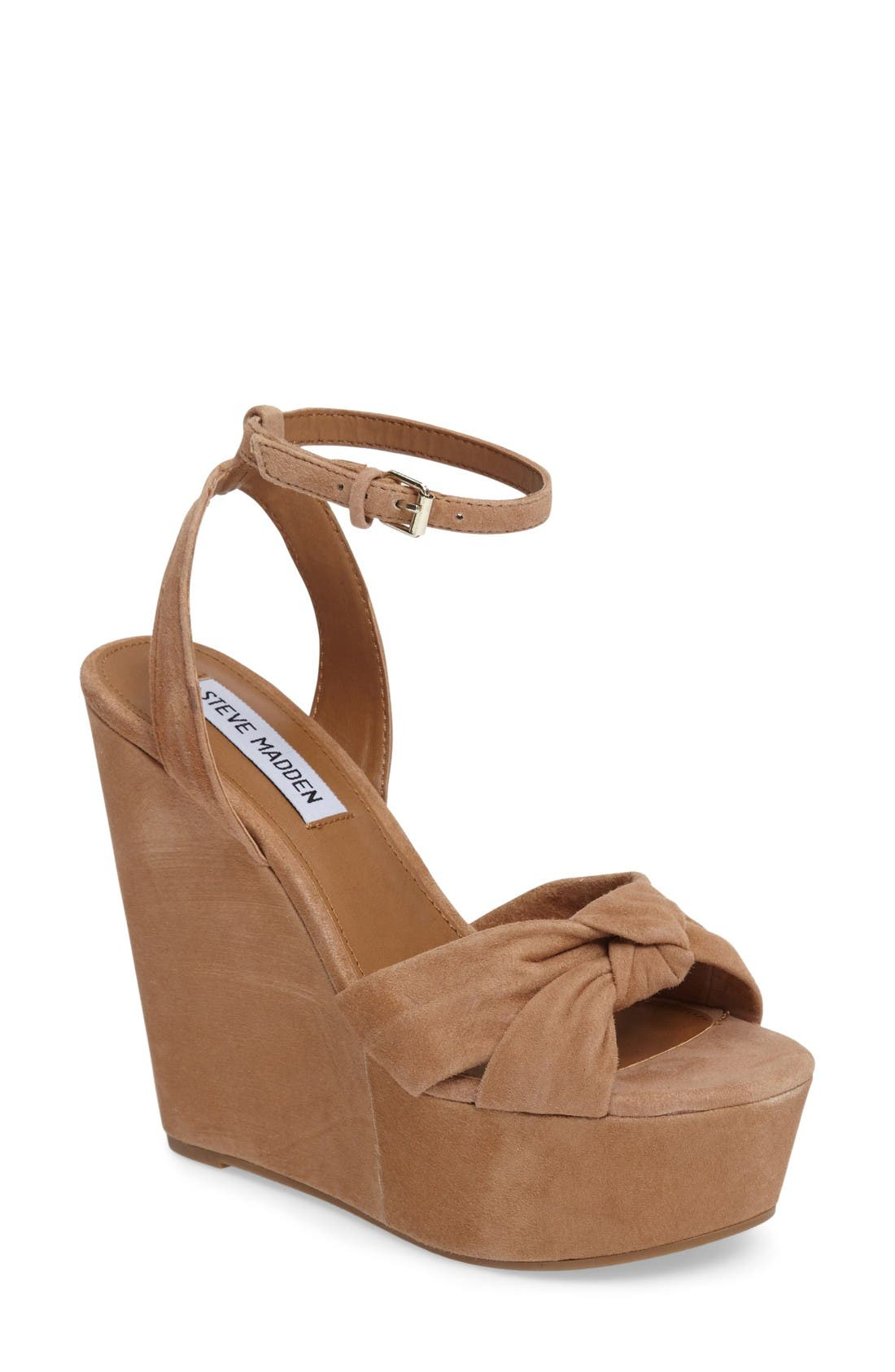 Alternate Image 1 Selected - Steve Madden Tylie Platform Wedge Sandal (Women)