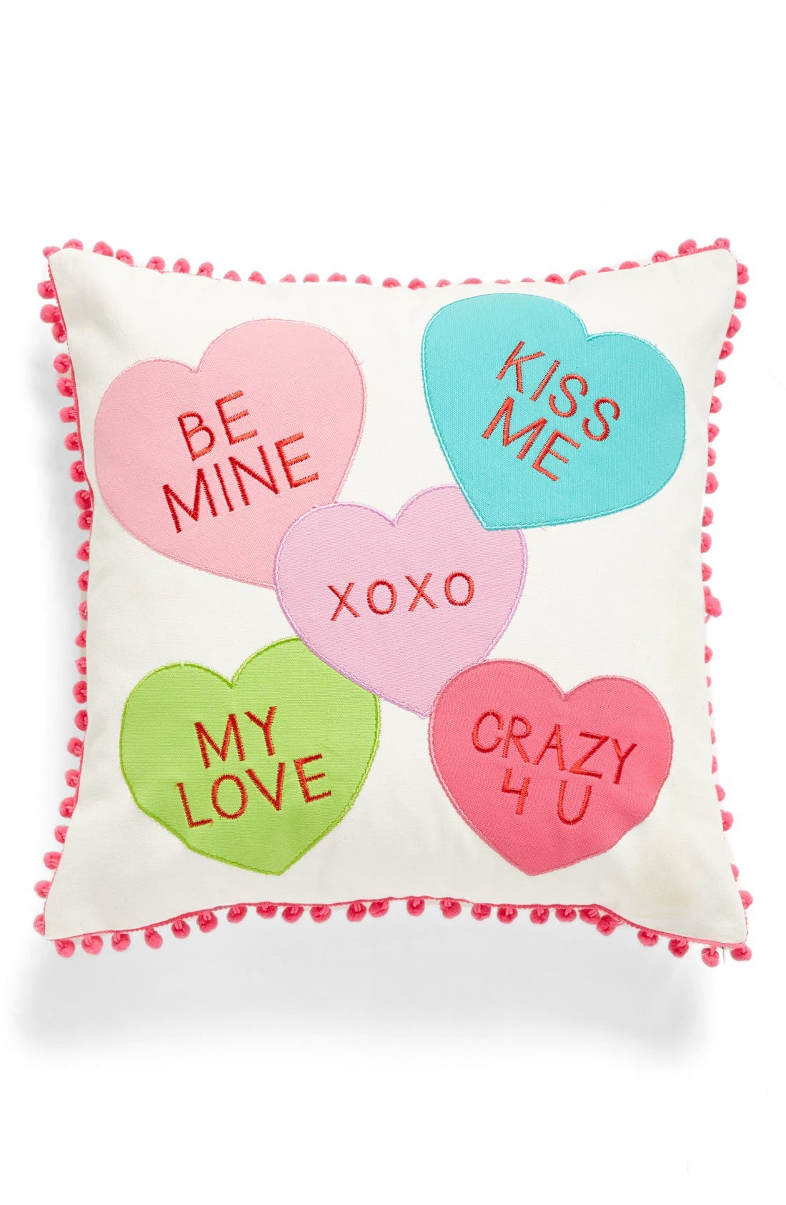 Alternate Image 1 Selected - Levtex Candy Hearts Accent Pillow