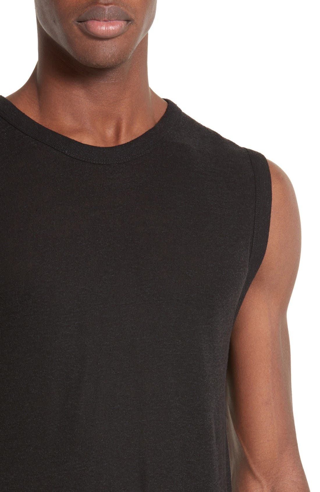 Alternate Image 4  - T by Alexander Wang Muscle T-Shirt