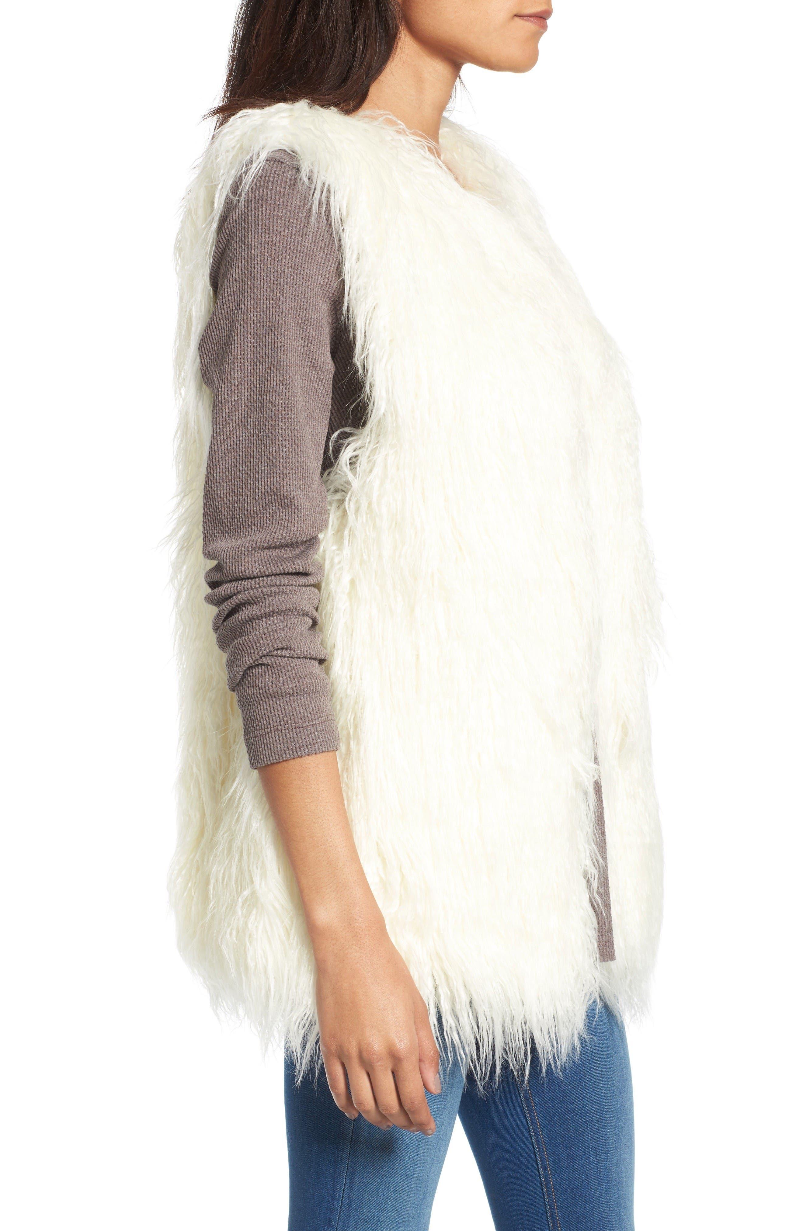 Alternate Image 3  - Hinge Faux Fur Vest