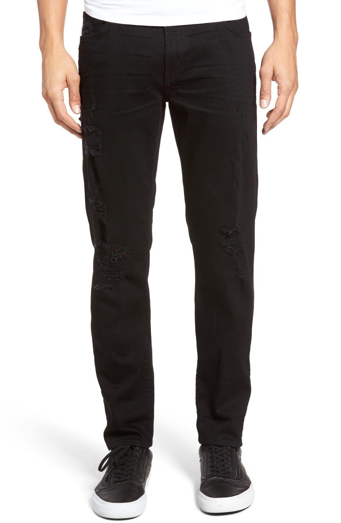 J Brand Tyler Slim Fit Jeans (Dark Matter)