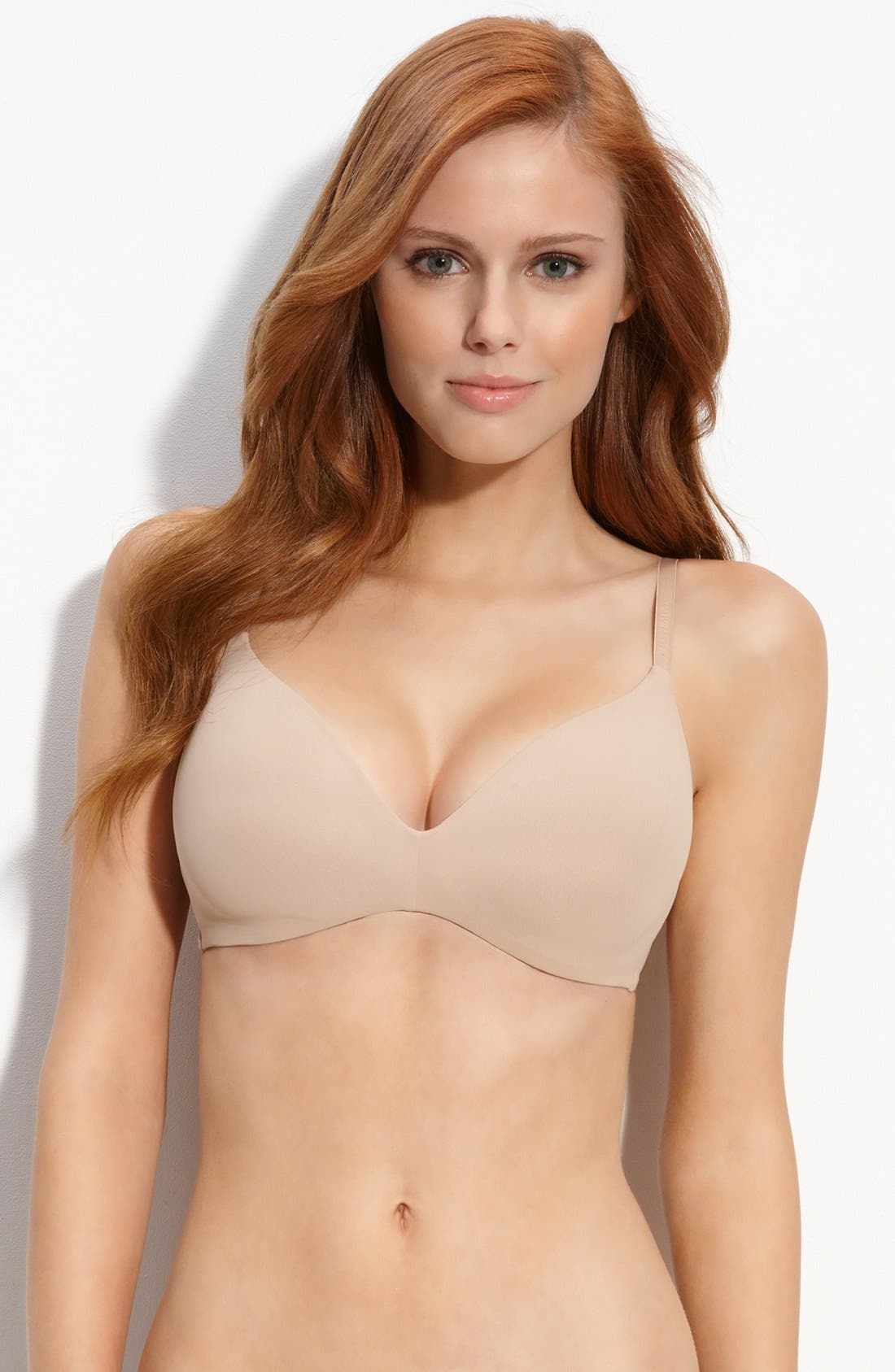 Perfectly Fit Wirefree Tshirt Convertible Bra F2781 in Sand Dune