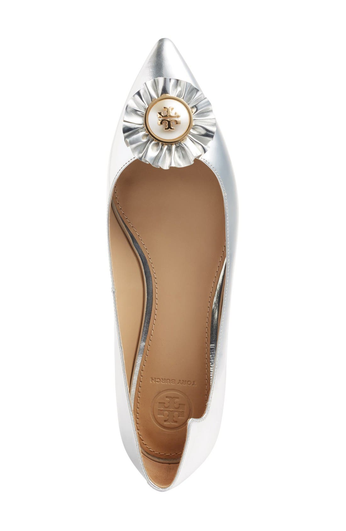 Alternate Image 3  - Tory Burch Melody Pointy Toe Flat (Women)