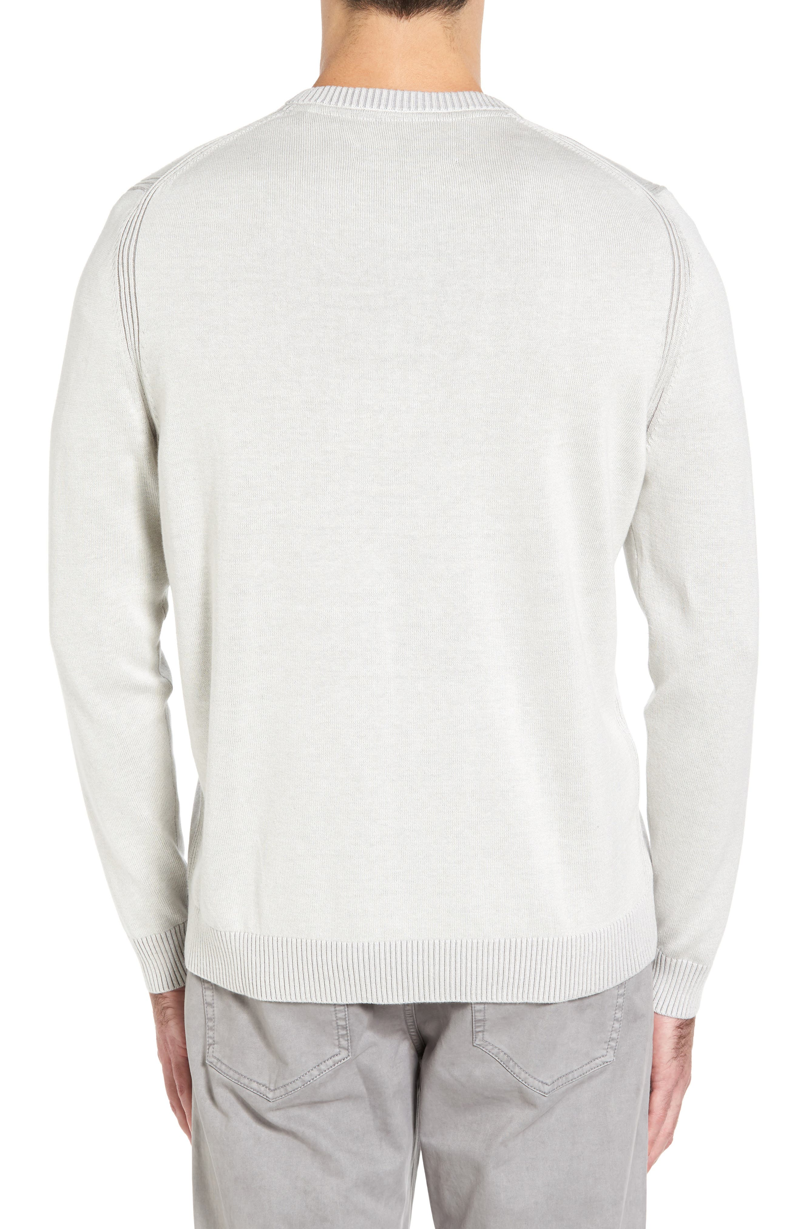 Alternate Image 2  - Tommy Bahama Chief Island Officer Silk Blend Sweater