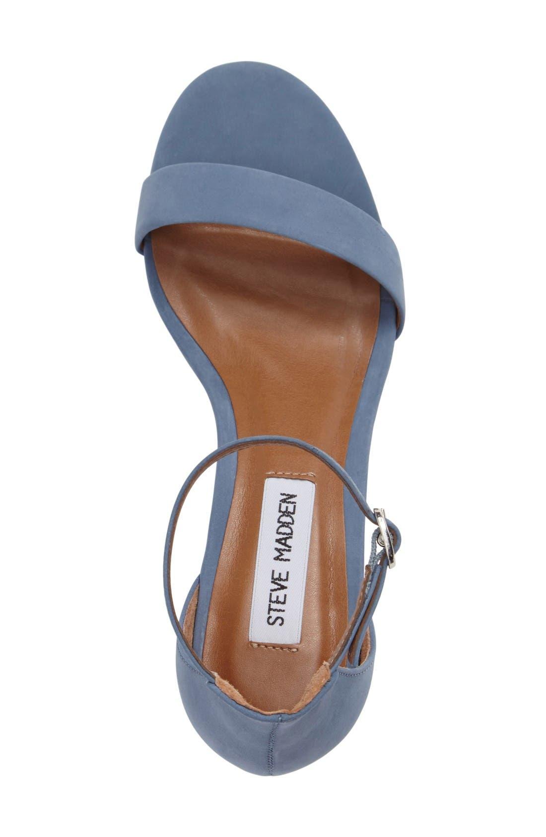 Alternate Image 3  - Steve Madden Irenee Ankle Strap Sandal (Women)