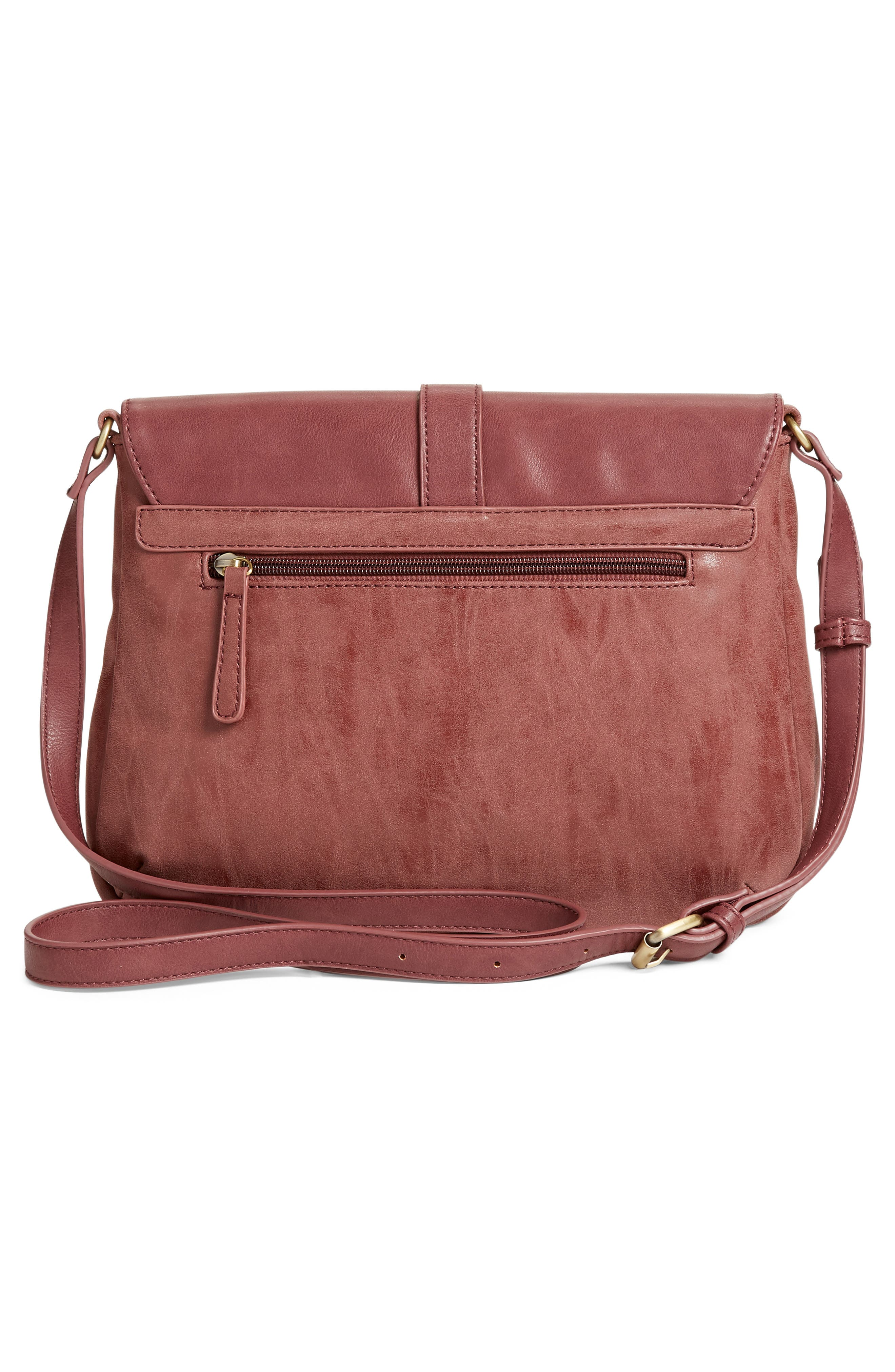 Alternate Image 3  - Emperia Saydie Tassel Faux Leather Crossbody Bag (Special Purchase)