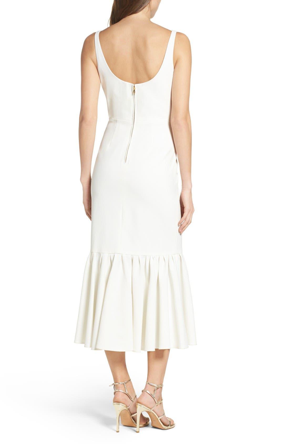 Alternate Image 2  - Jill Jill Stuart Body-Con Midi Dress