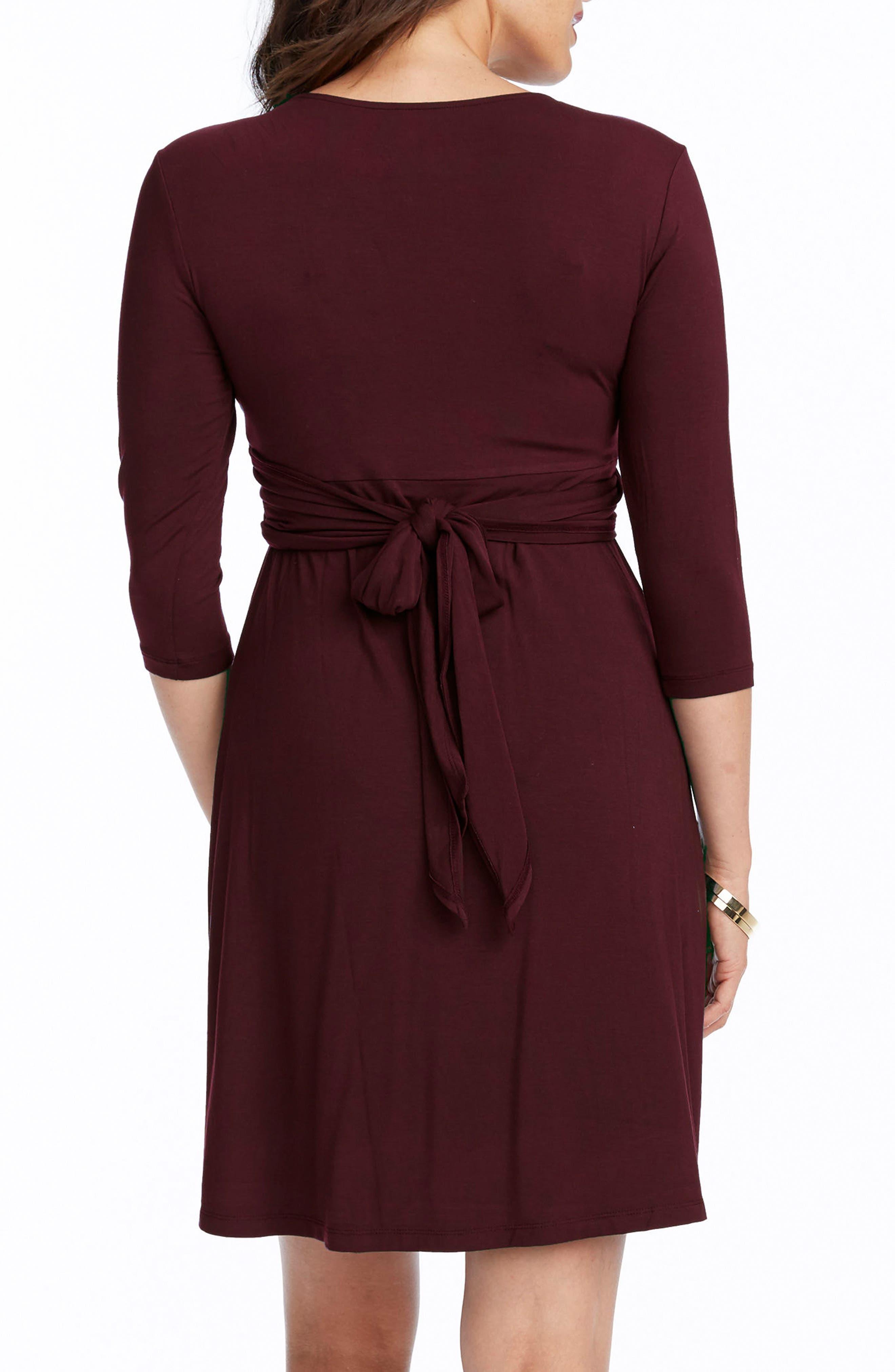 Alternate Image 2  - Rosie Pope Maternity/Nursing Wrap Dress