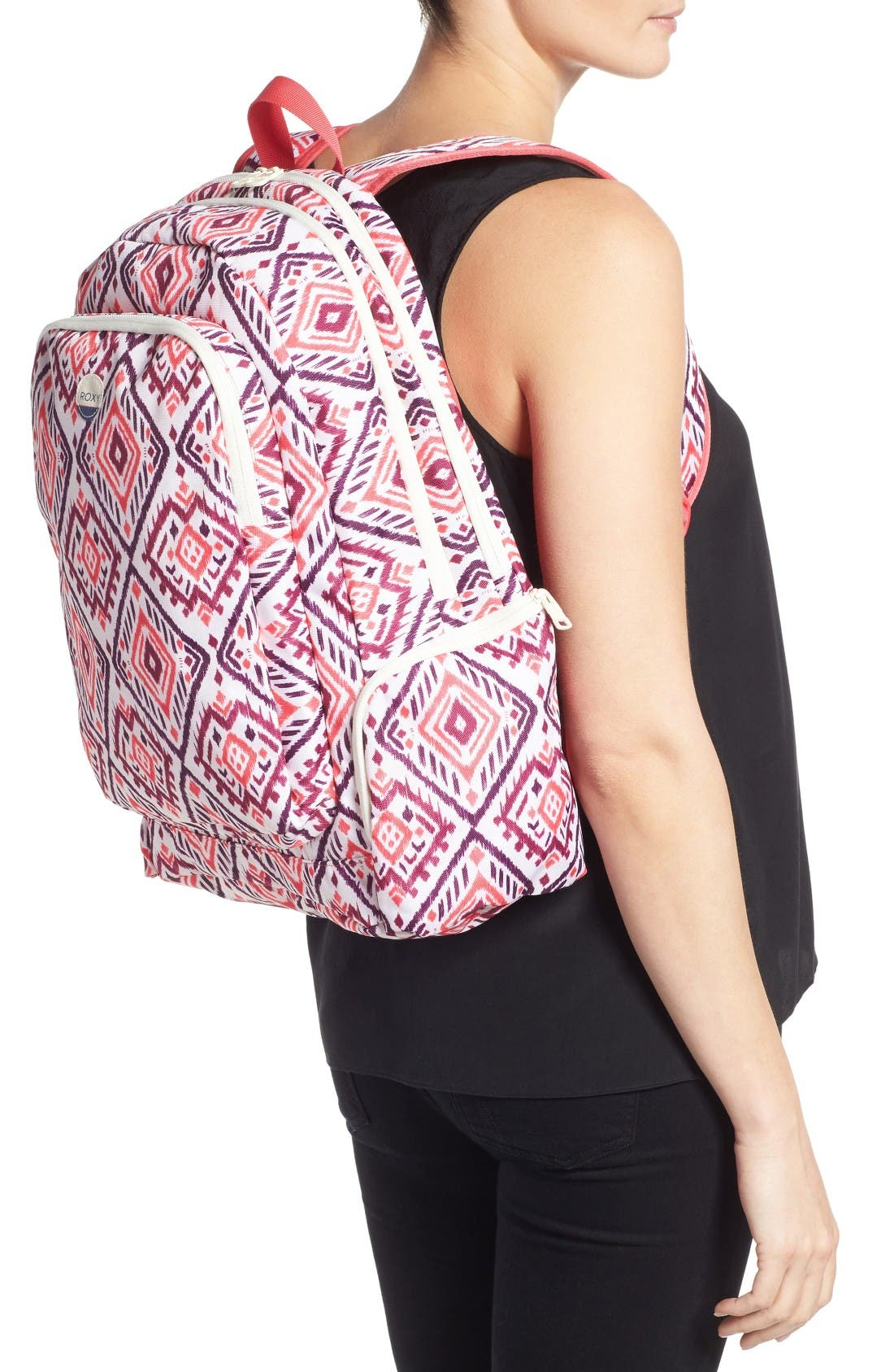 Alternate Image 2  - Roxy Alright Print Backpack
