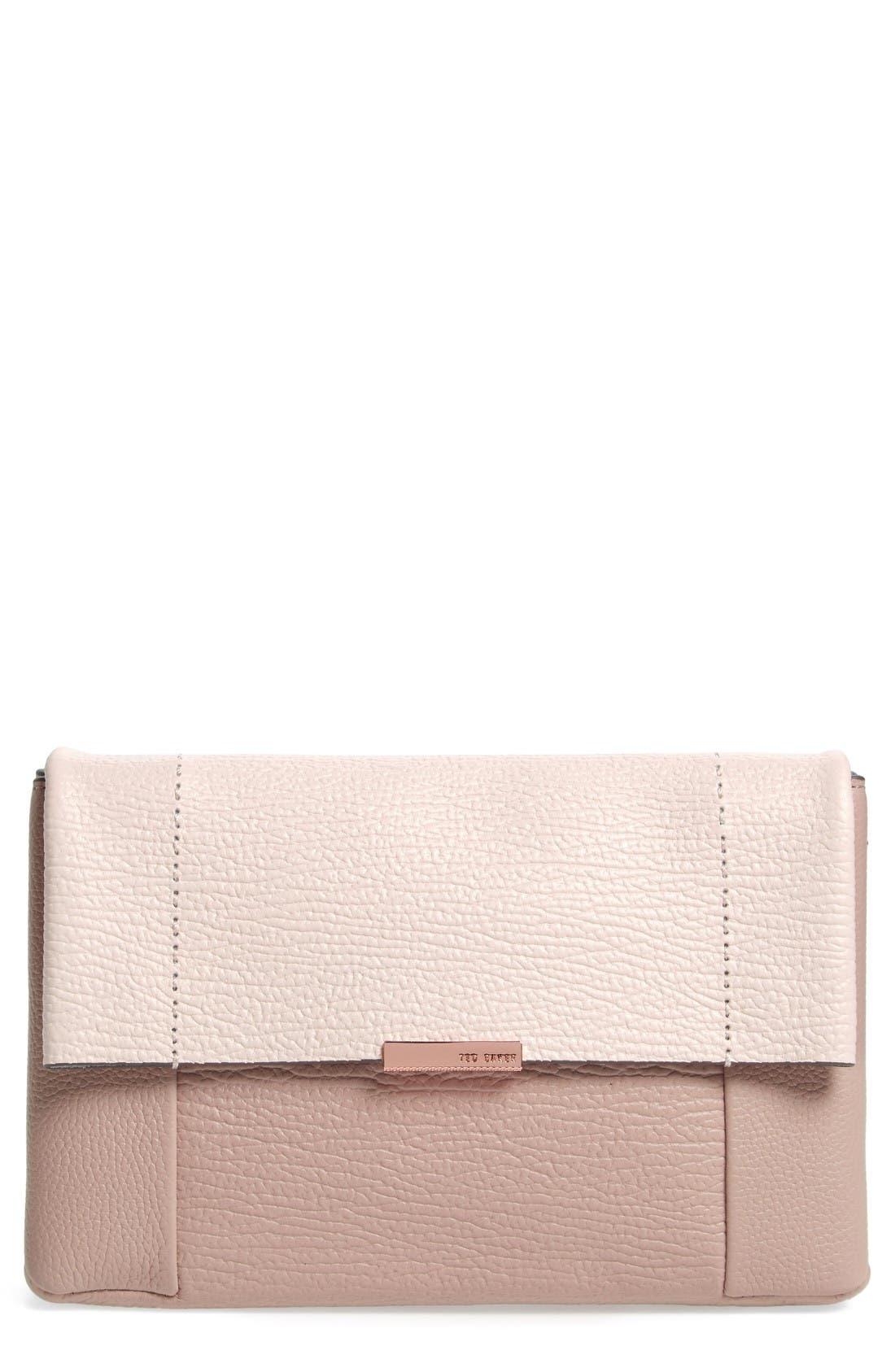 Ted Baker London Parson Leather Crossbody Bag