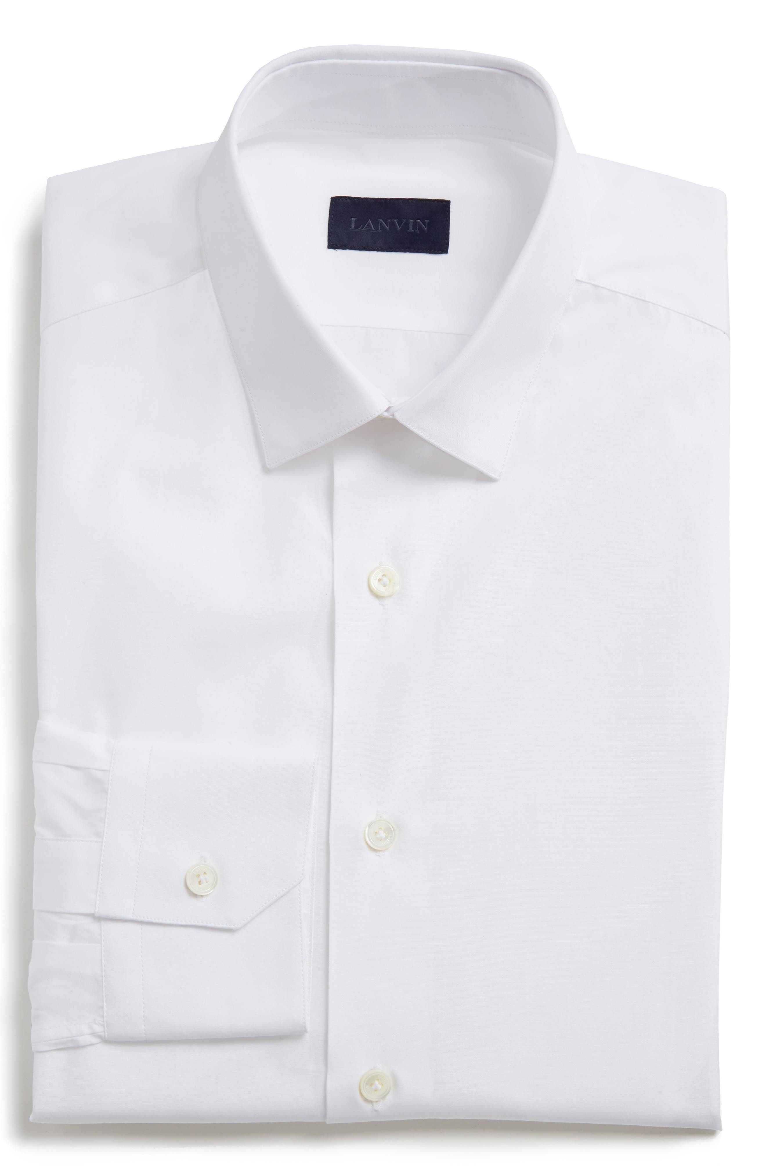 Main Image - Lanvin Extra Trim Fit Cotton Dress Shirt