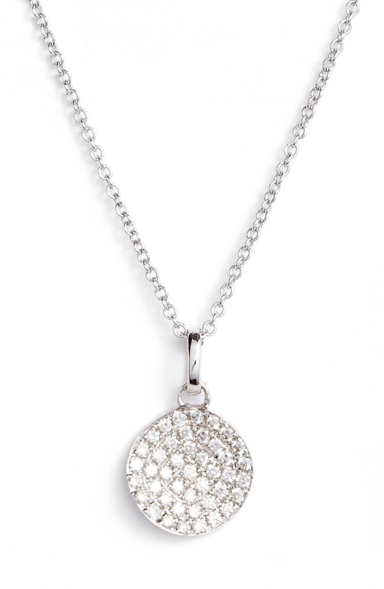 BONY LEVY Diamond Pendant Necklace
