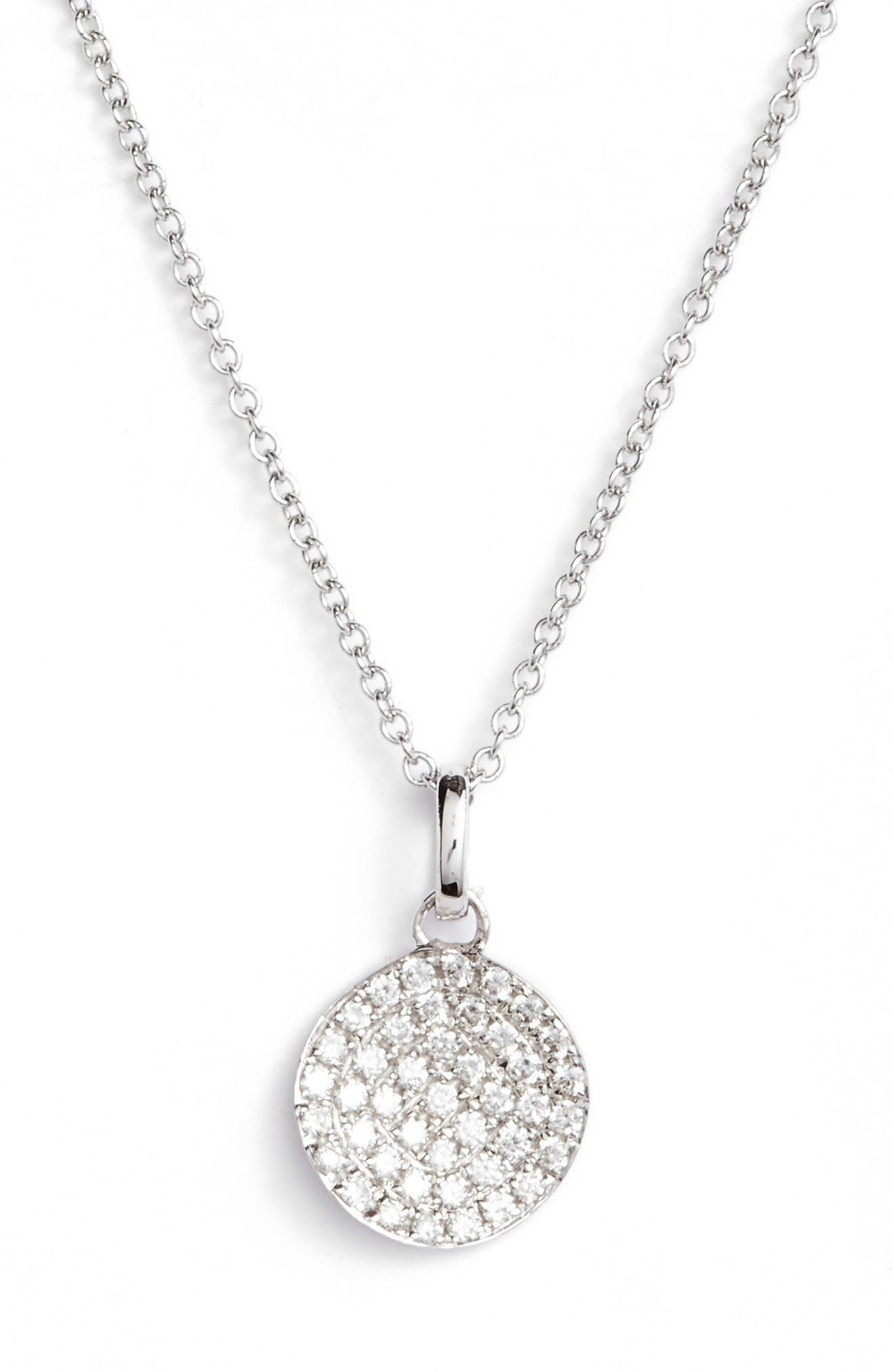 Main Image - Bony Levy Diamond Pendant Necklace (Nordstrom Exclusive)