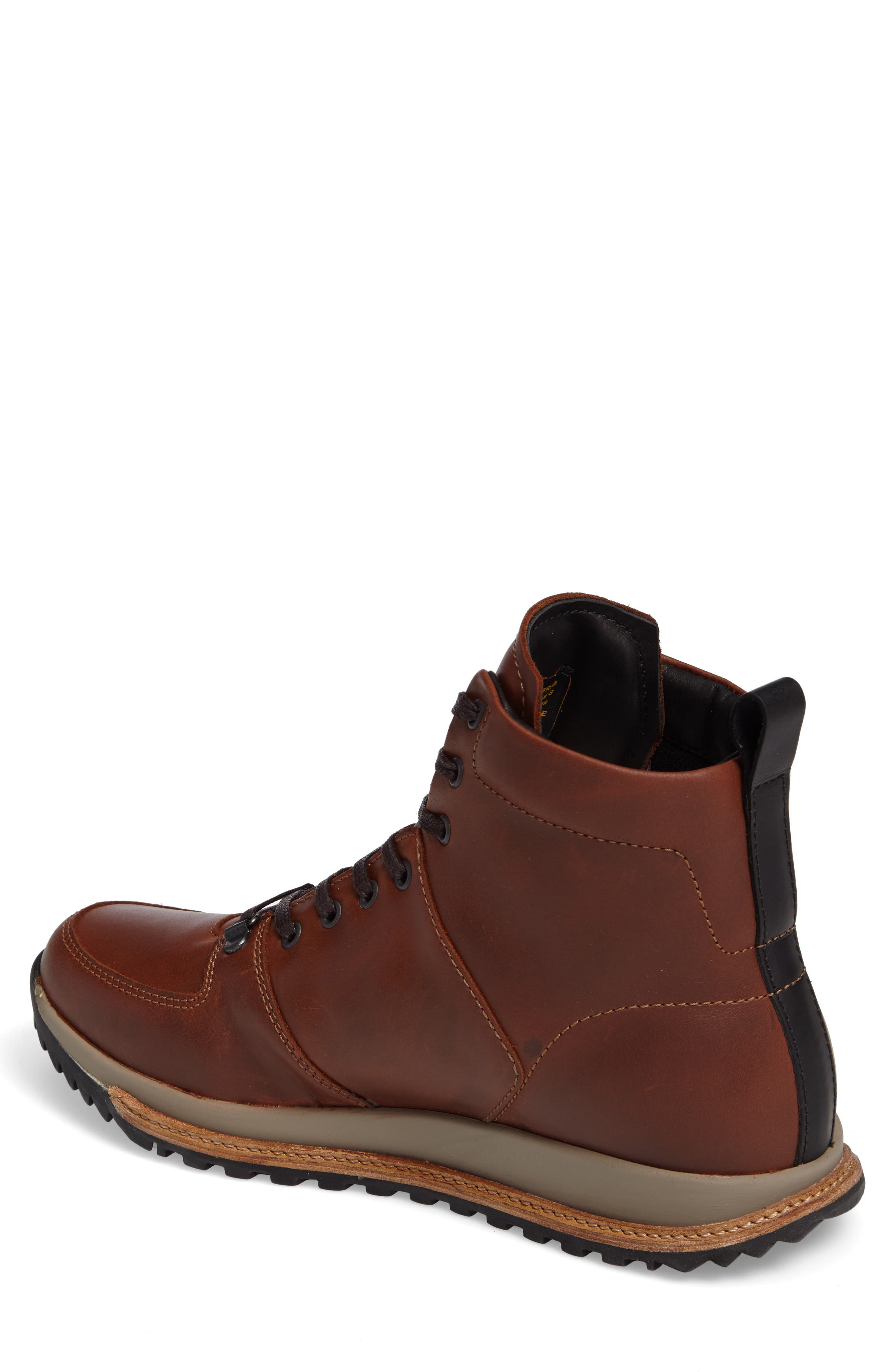 Concord Mid Top Wool Cuffed Waterproof Boot,                             Alternate thumbnail 2, color,                             Seahorse Leather