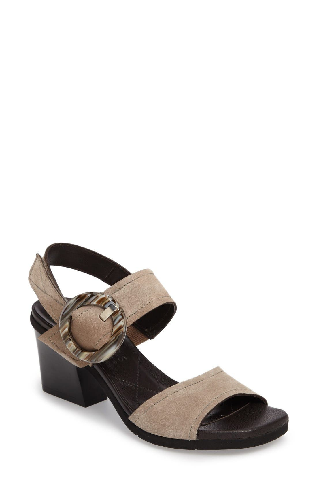 Hispanitas Ultimate Slingback Buckle Strap Sandal (Women)