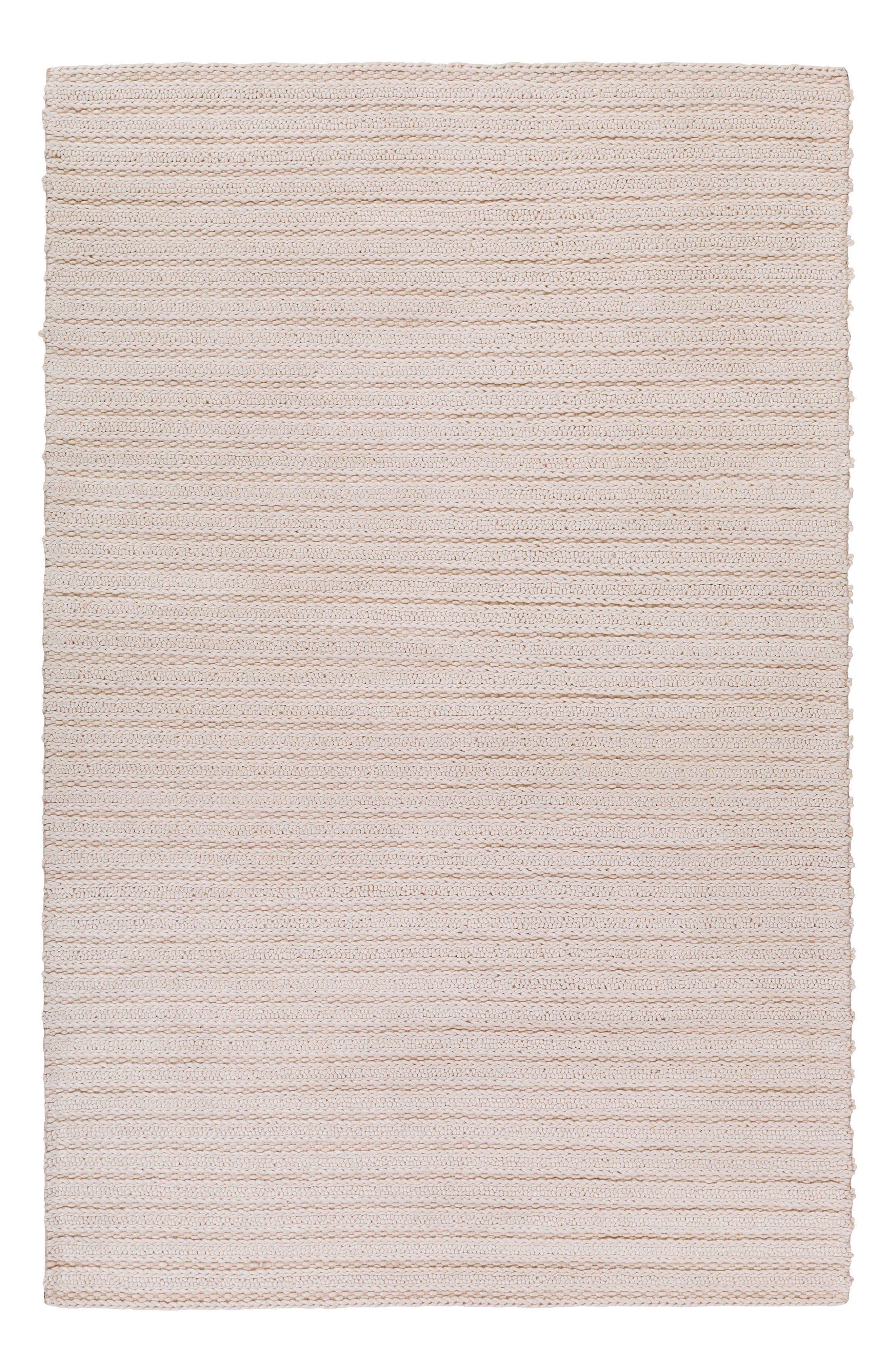 Kindred Rug,                             Main thumbnail 1, color,                             White
