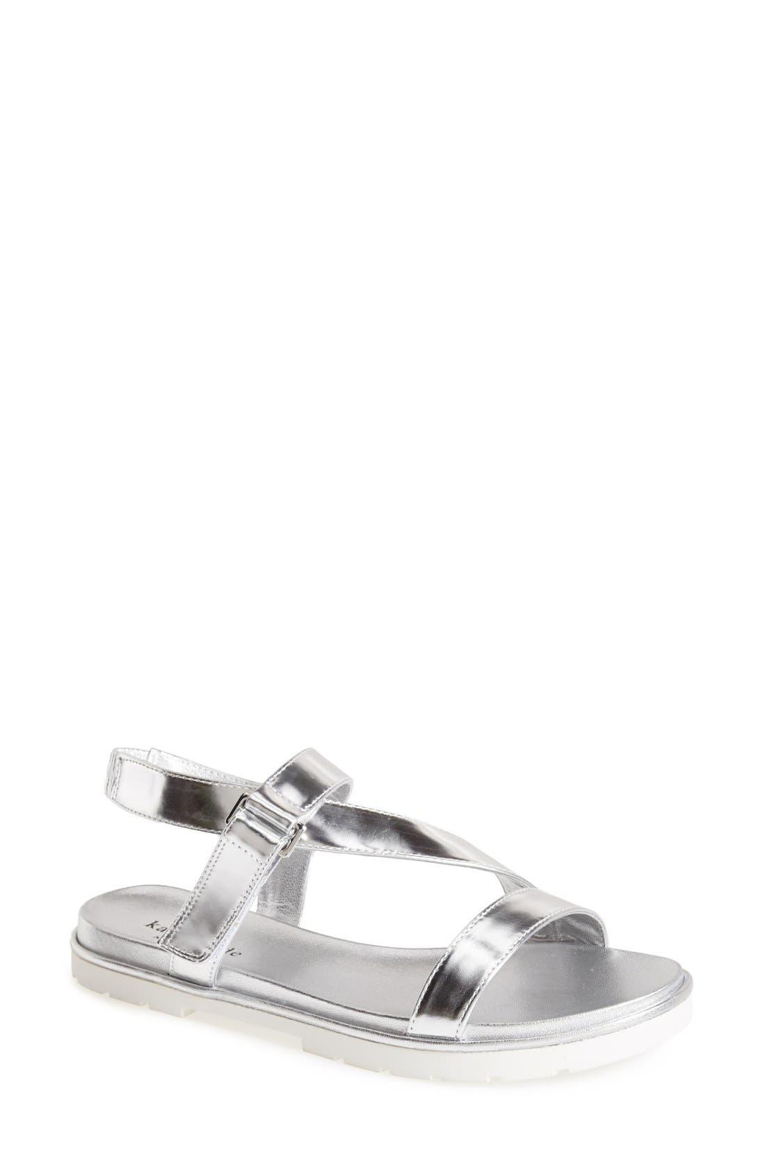 Alternate Image 1 Selected - kate spade new york 'mckee' leather sandal (Women)