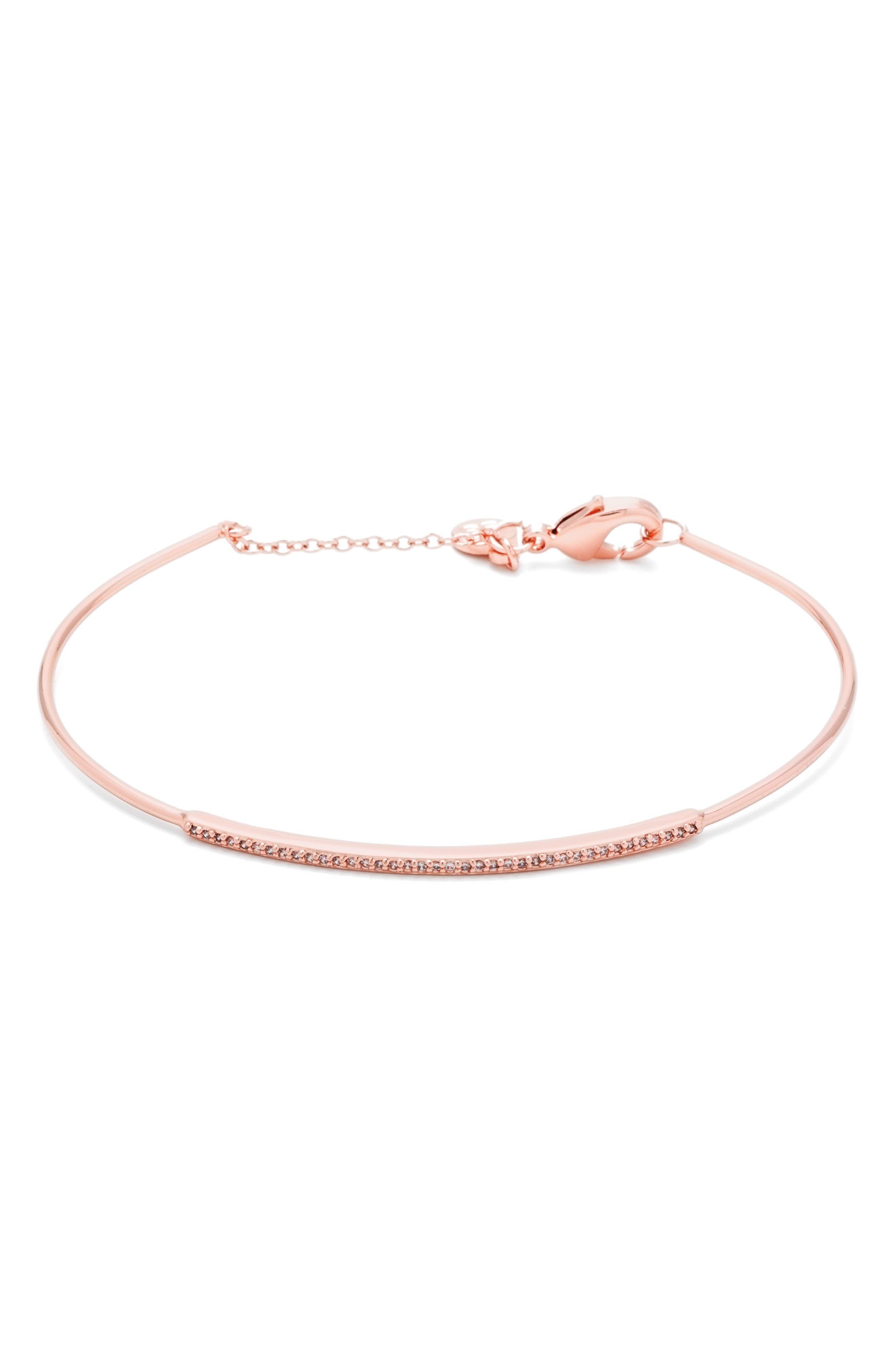 GORJANA Shimmer Bar Pavé Bracelet