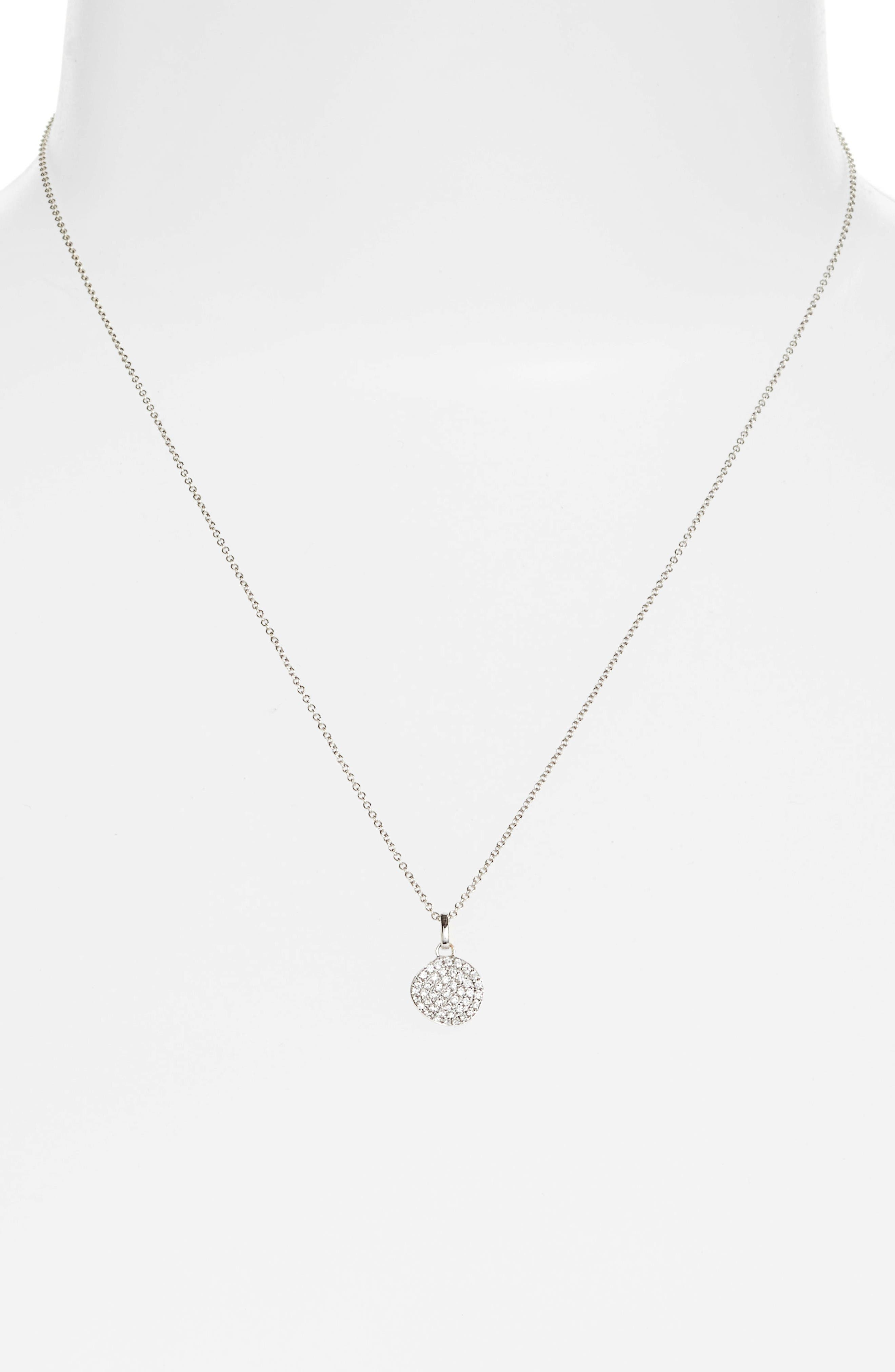 Alternate Image 2  - Bony Levy Diamond Pendant Necklace (Nordstrom Exclusive)