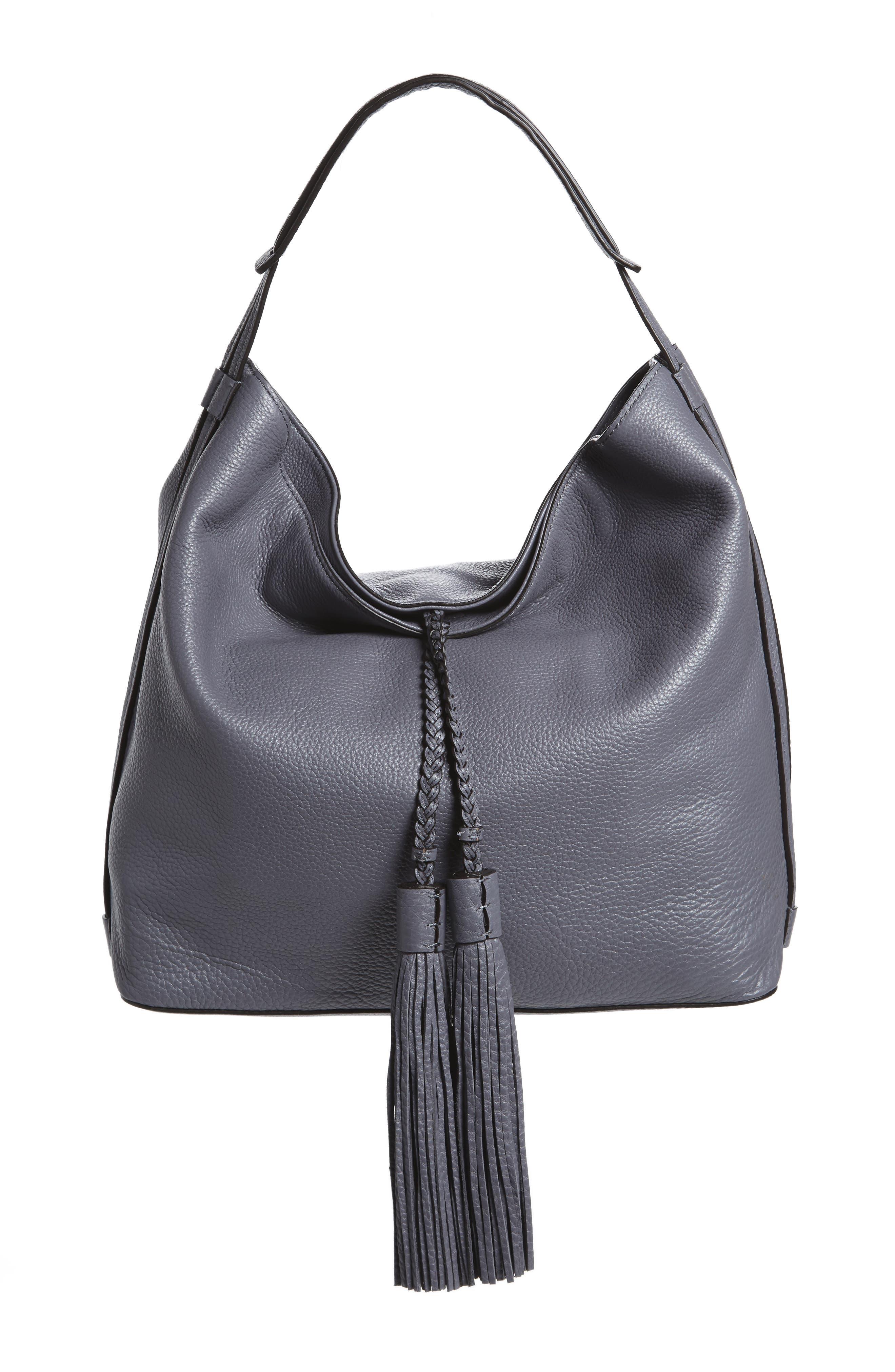 Alternate Image 1 Selected - Rebecca Minkoff Isobel Tassel Leather Hobo