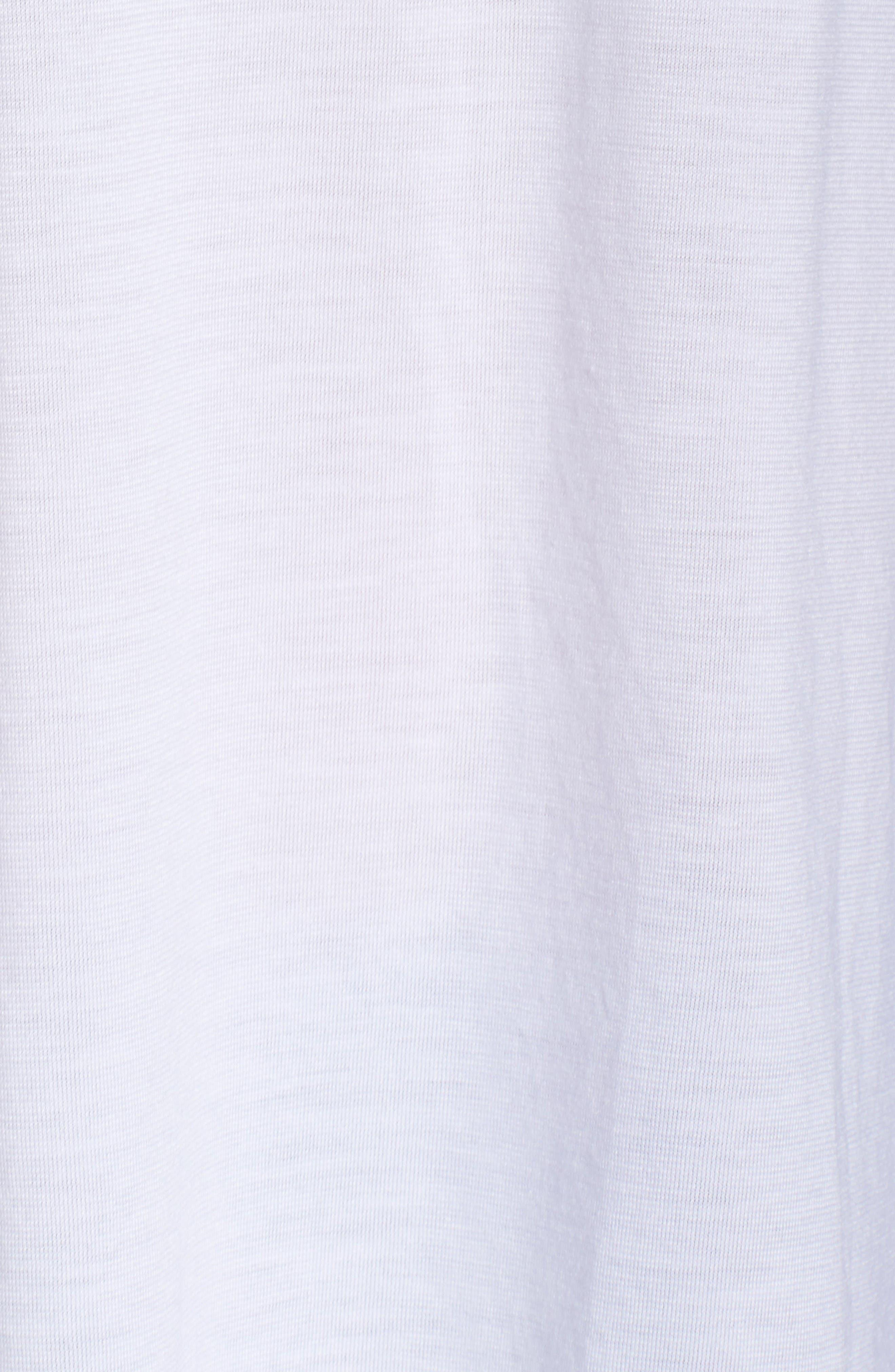 Essential Logo Tank,                             Alternate thumbnail 7, color,                             White/ White/ Black