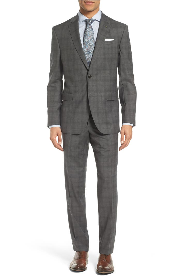 Ted Baker London сумка : Ted baker london jay trim fit plaid wool suit nordstrom