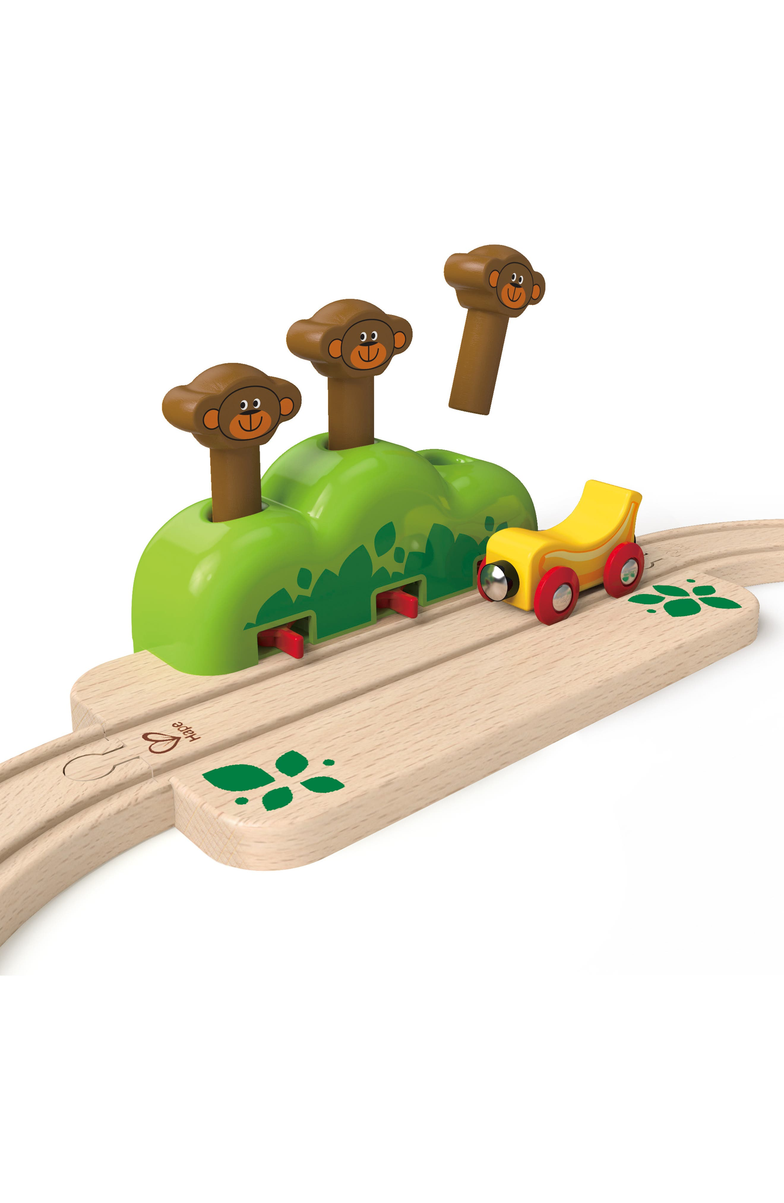 My Little Railway Wooden Train Set,                             Alternate thumbnail 4, color,                             Multi