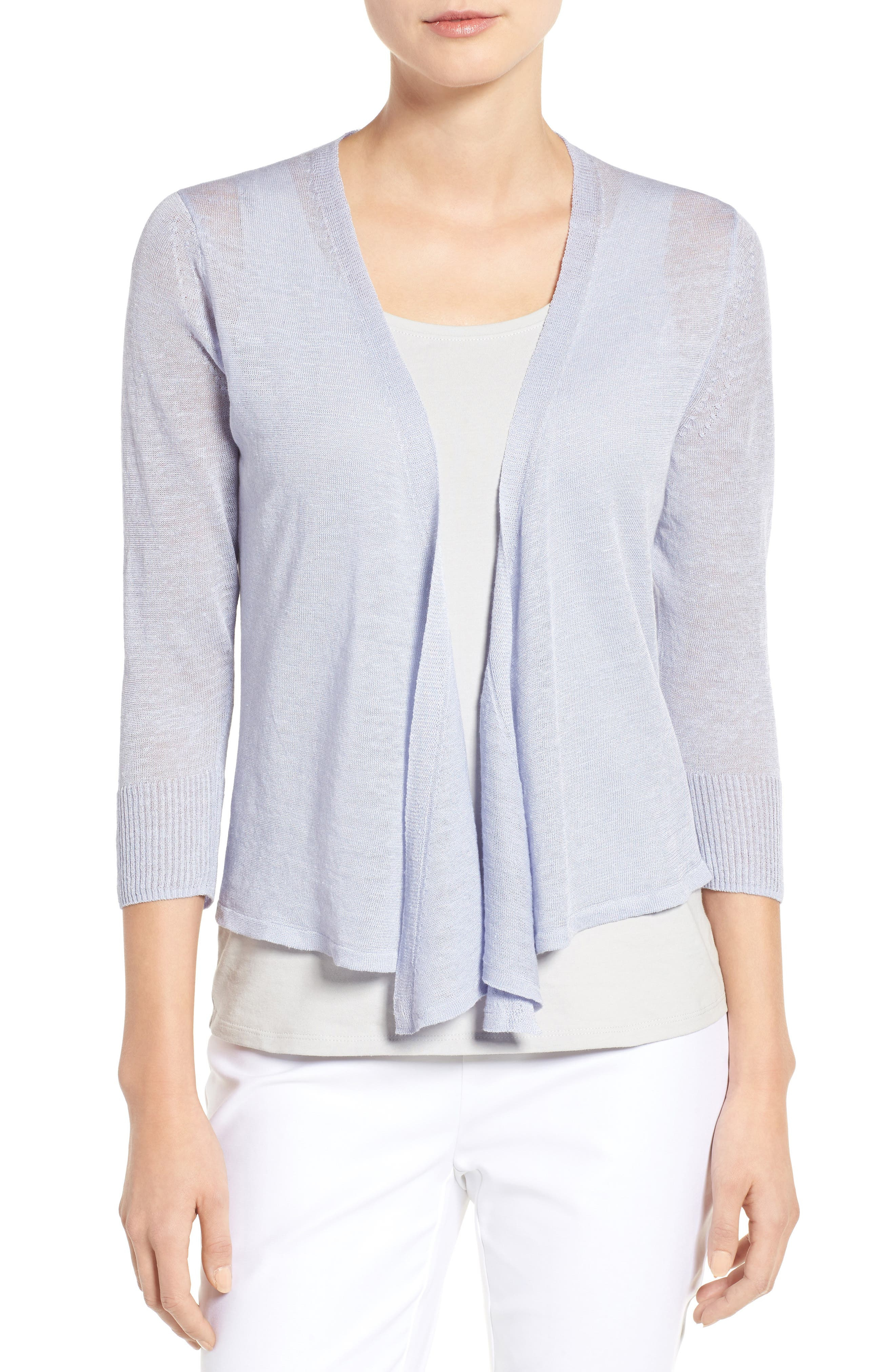 NIC+ZOE 4-Way Convertible Three Quarter Sleeve Cardigan (Regular and Petite)