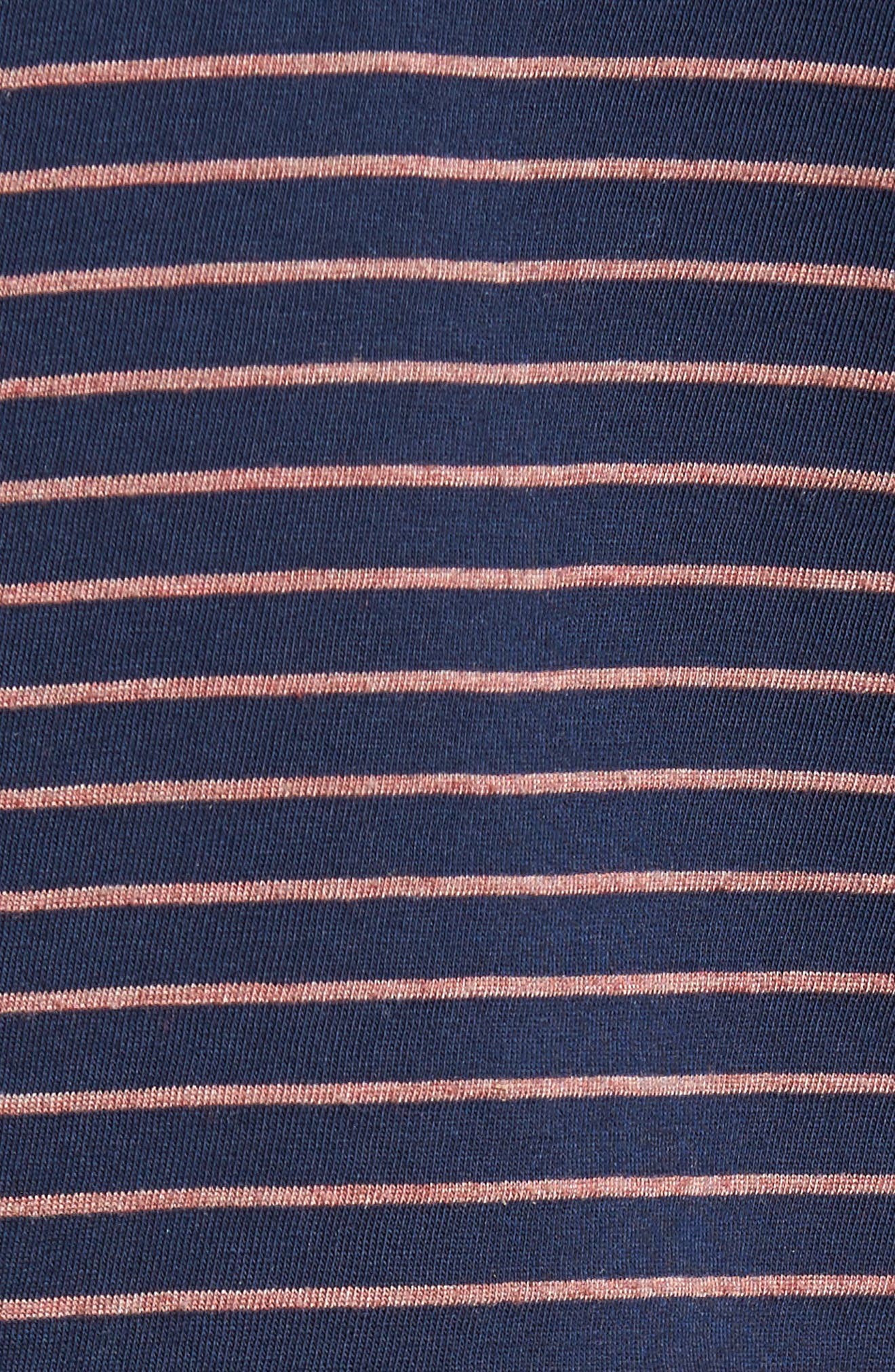 Alternate Image 5  - Current/Elliott The Muscle Tee Stripe Tank