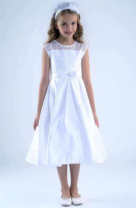 b3884c77991 Us Angels First Communion Dress (Little Girls   Big Girls)