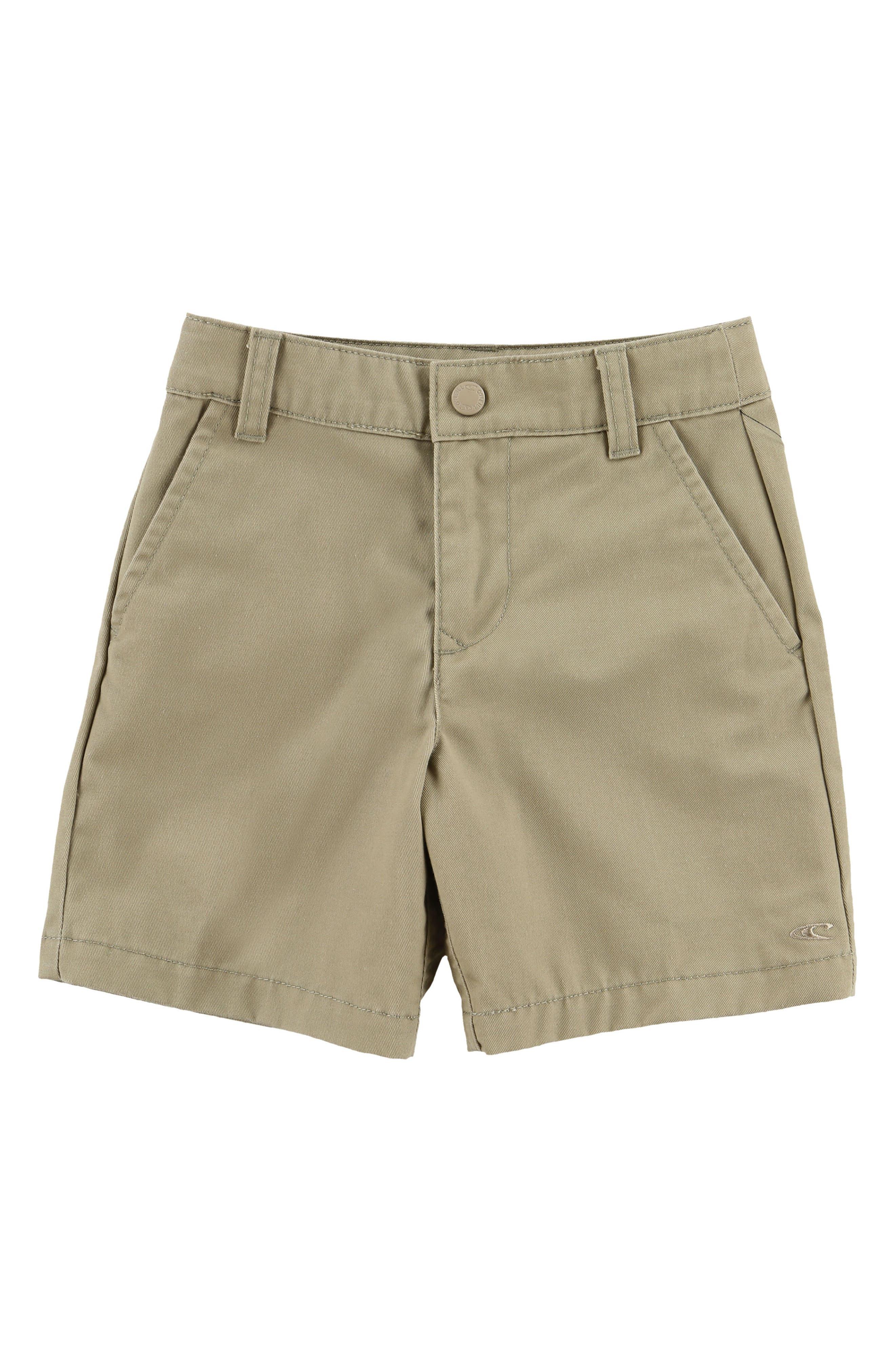 Contact Twill Walking Shorts,                         Main,                         color, Oneill Kha