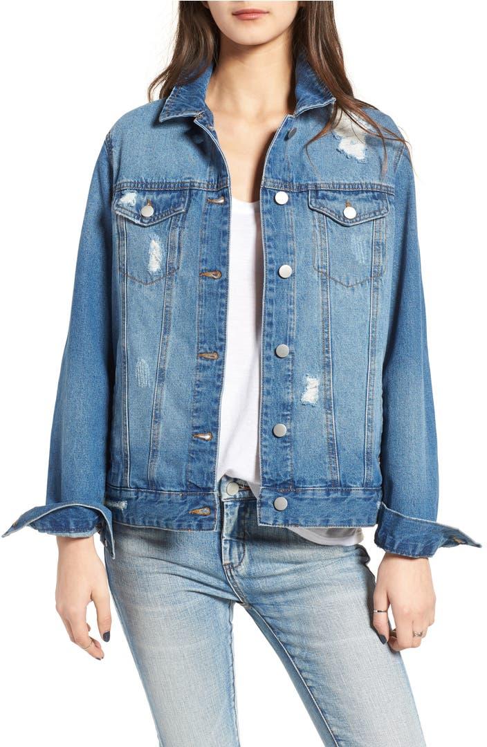 Denim jackets for women cheap