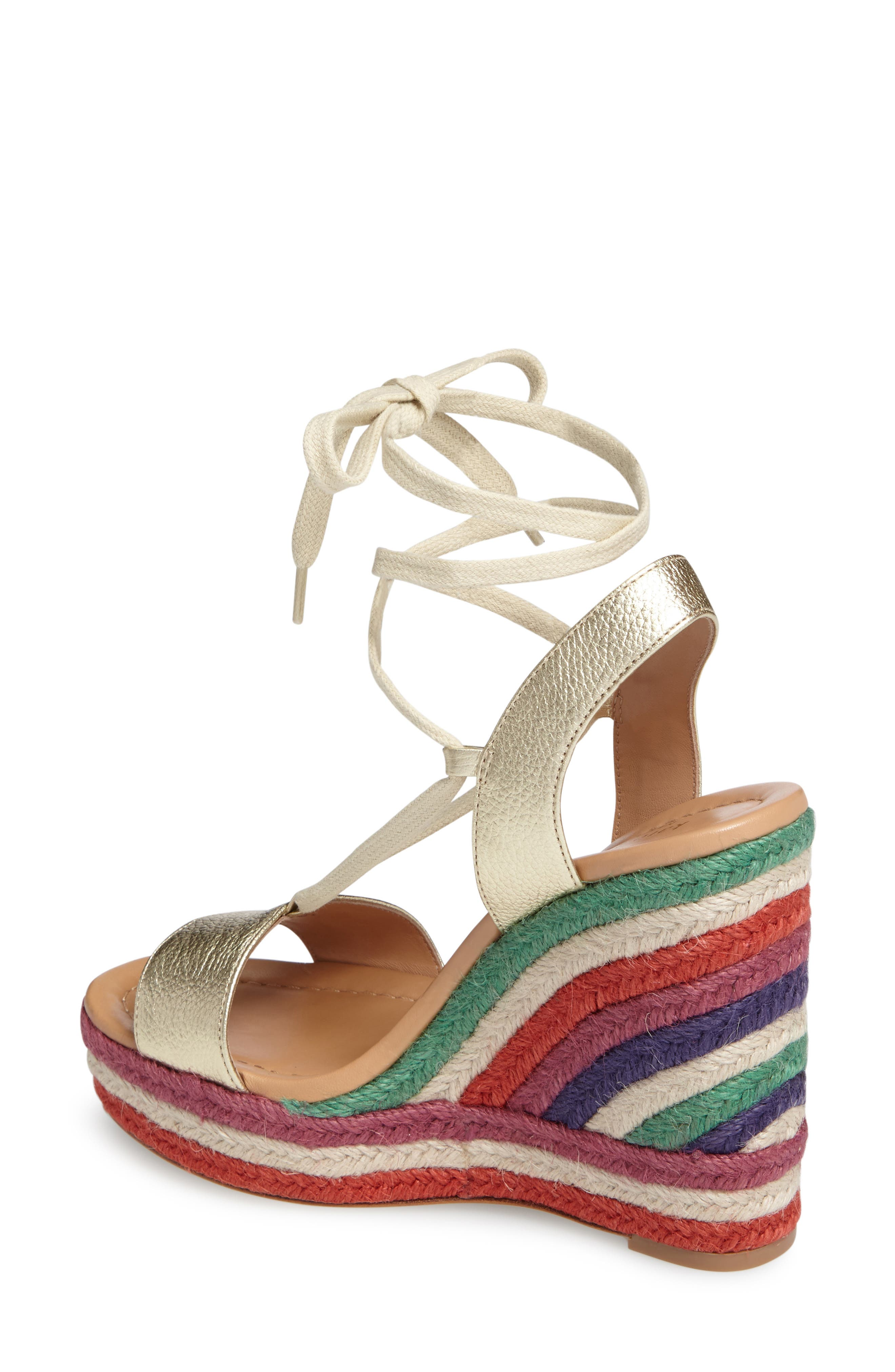 Alternate Image 2  - kate spade new york daisy too platform wedge espadrille (Women)
