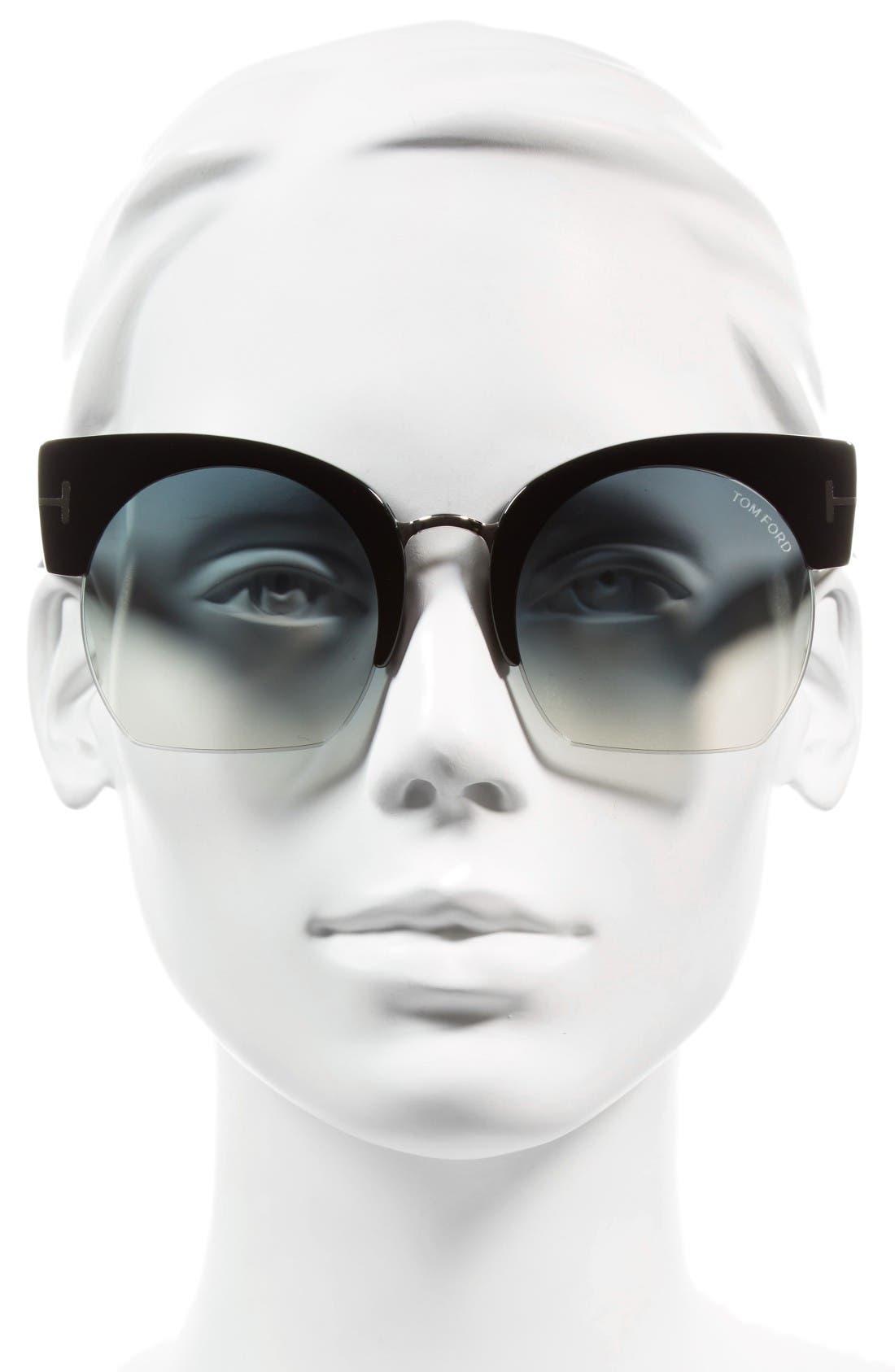 Alternate Image 2  - Tom Ford Savannah 55mm Cat Eye Sunglasses