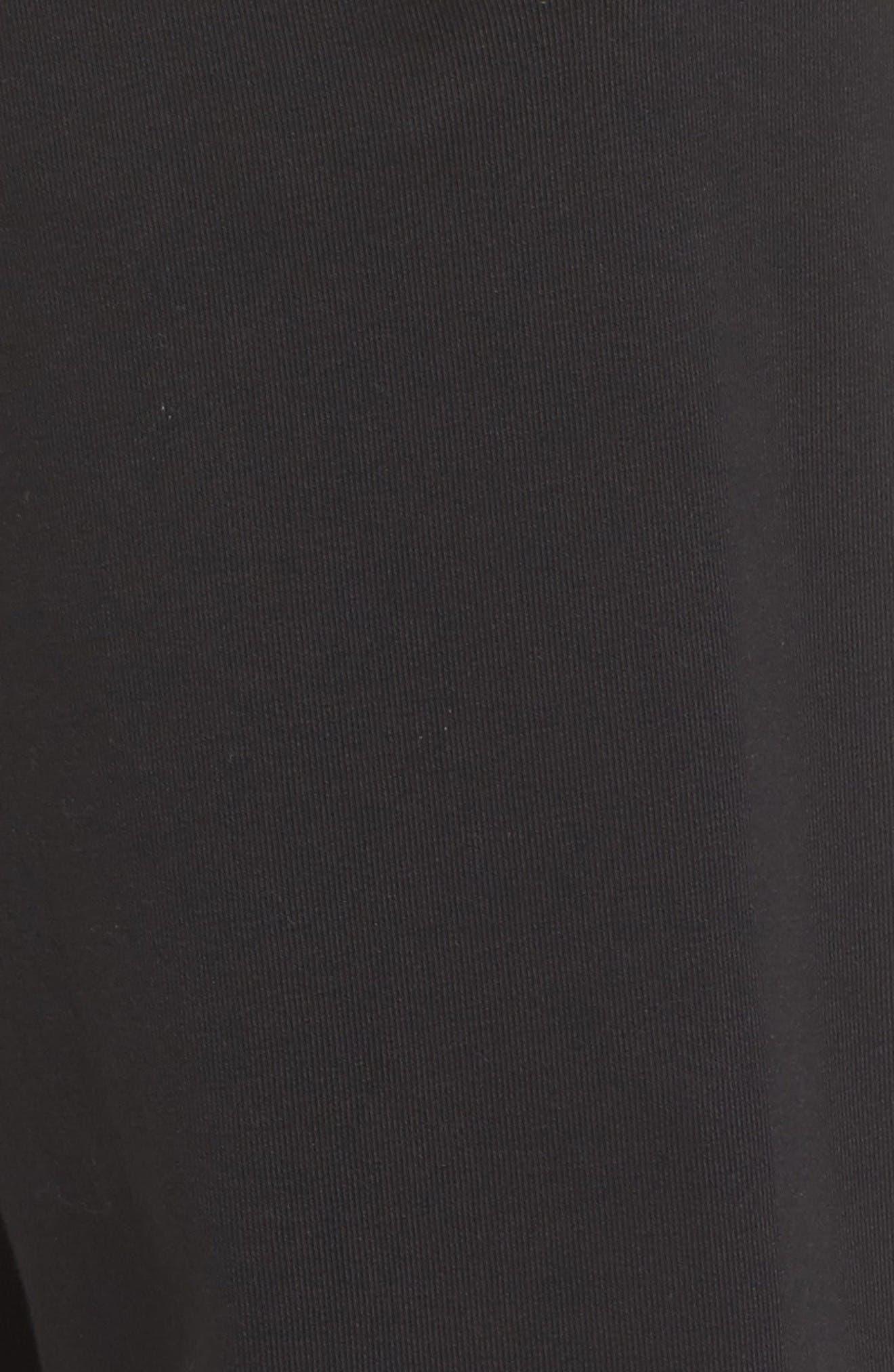 Logo Jogger Pants,                             Alternate thumbnail 6, color,                             Black