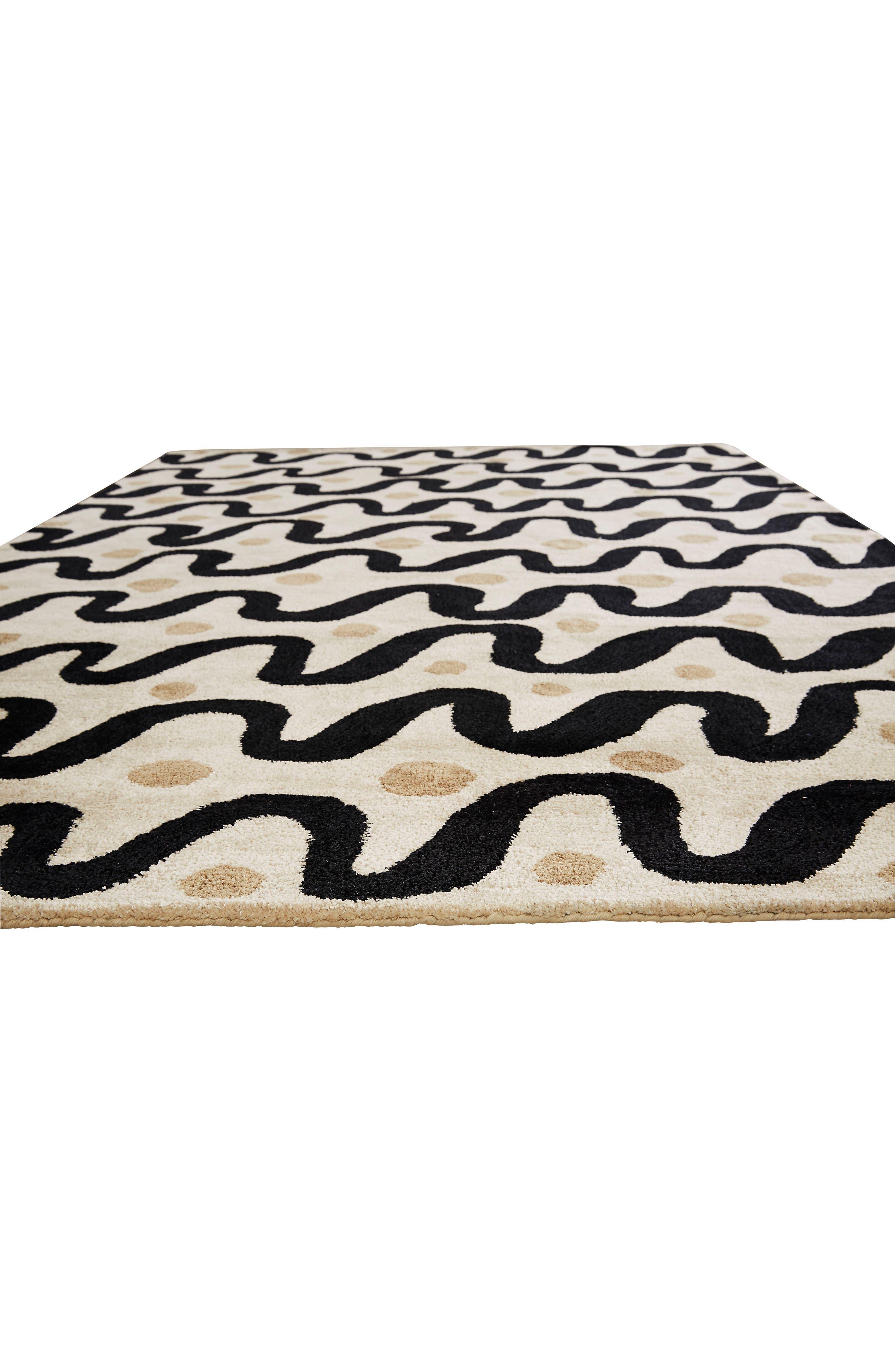 Alternate Image 3  - kate spade new york contemporary waves rug