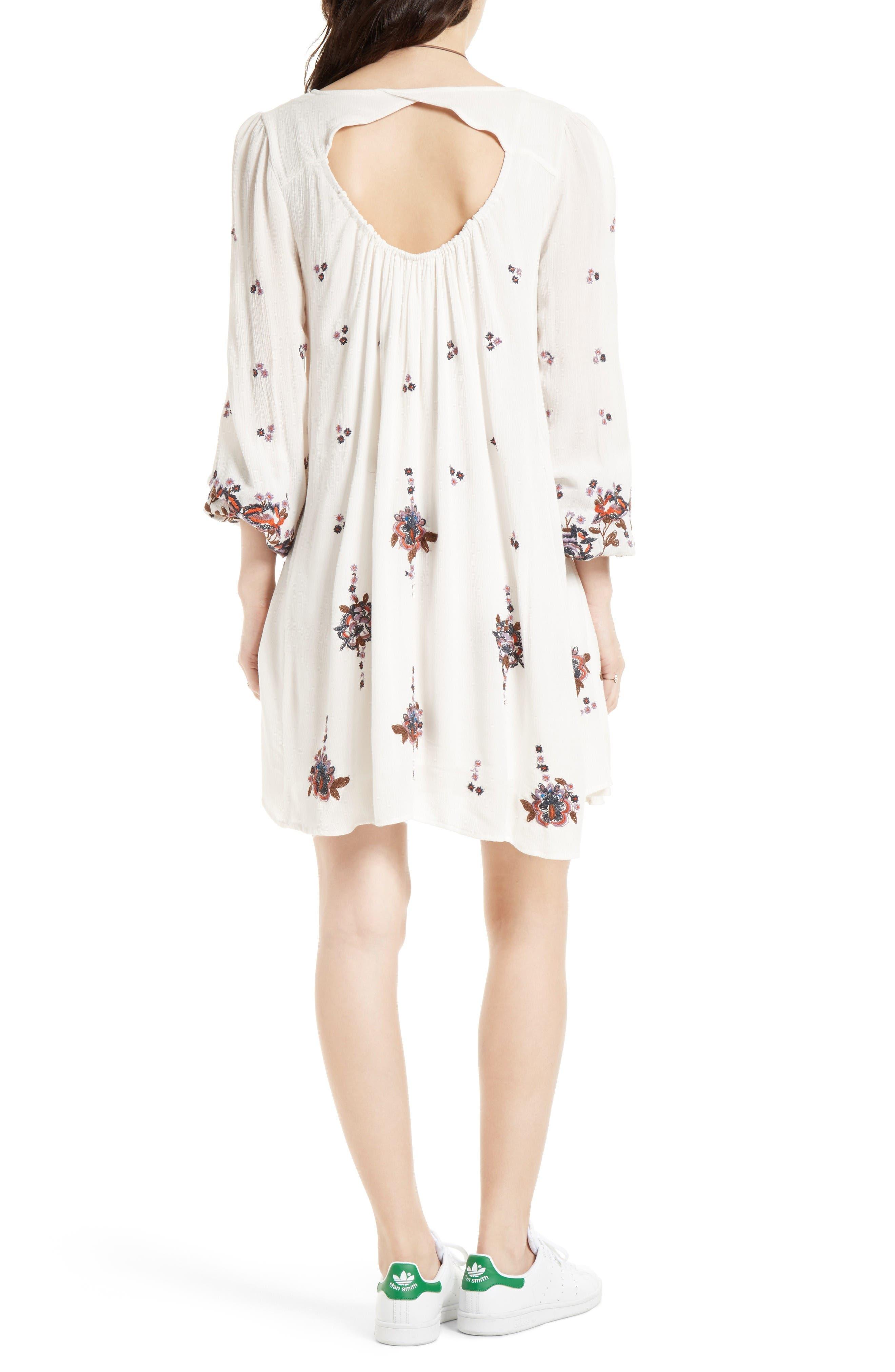 Alternate Image 2  - Free People Embroidered Minidress