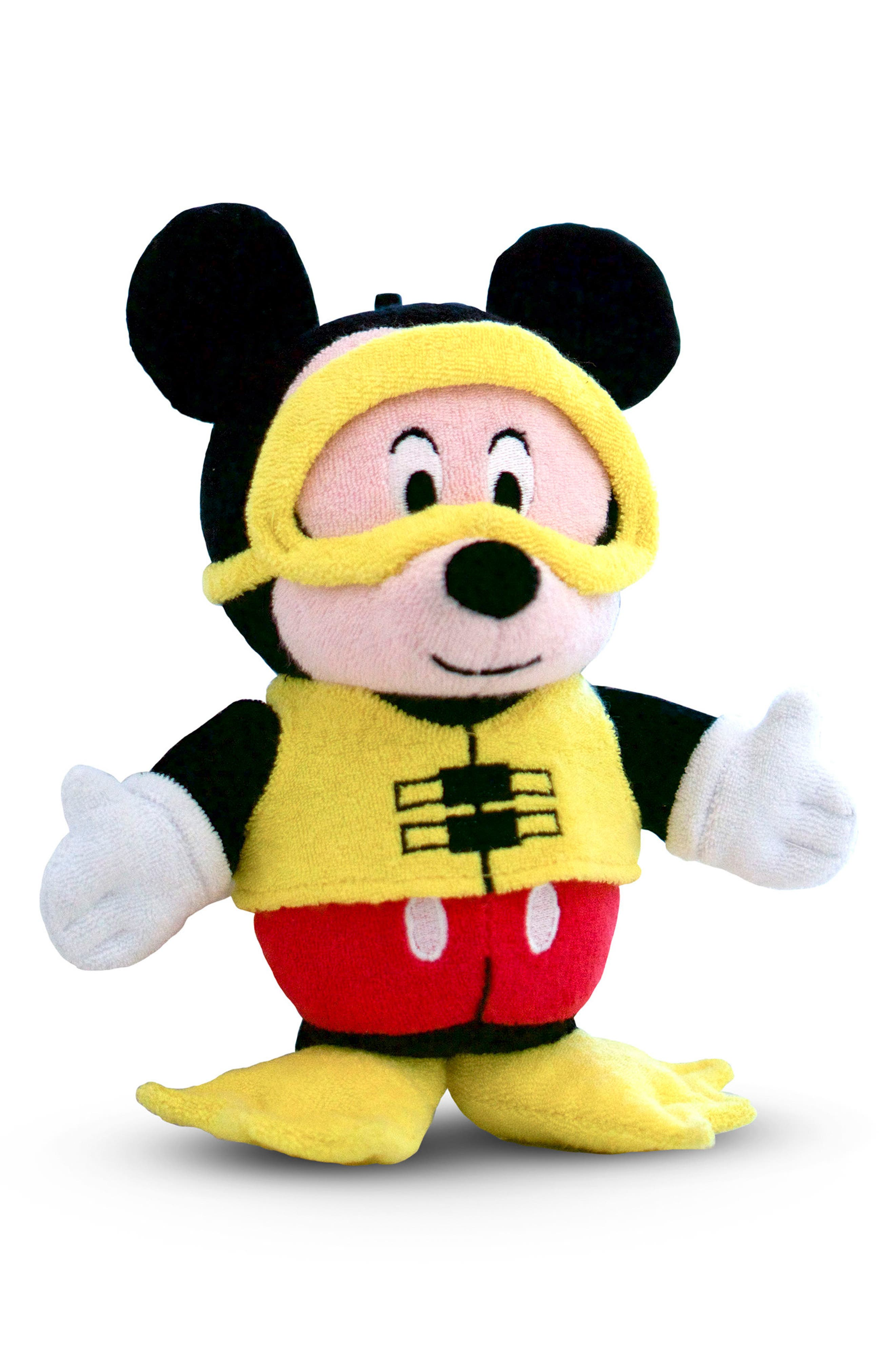 Disney<sup>®</sup> Antimicrobial Terry Cloth Bath Sponge,                             Main thumbnail 1, color,                             Mickey Mouse