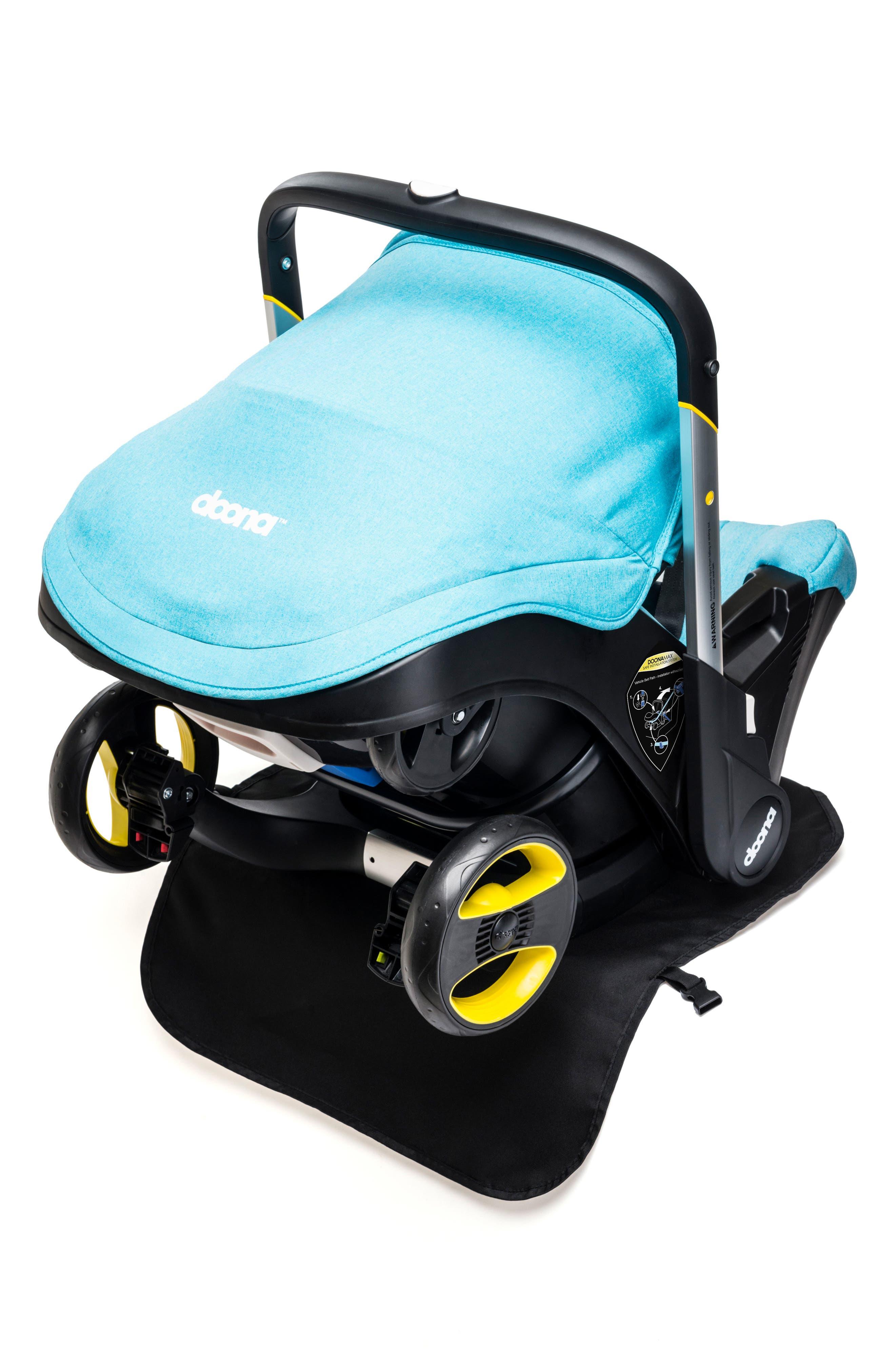 Vehicle Seat Protector,                             Main thumbnail 1, color,                             Black