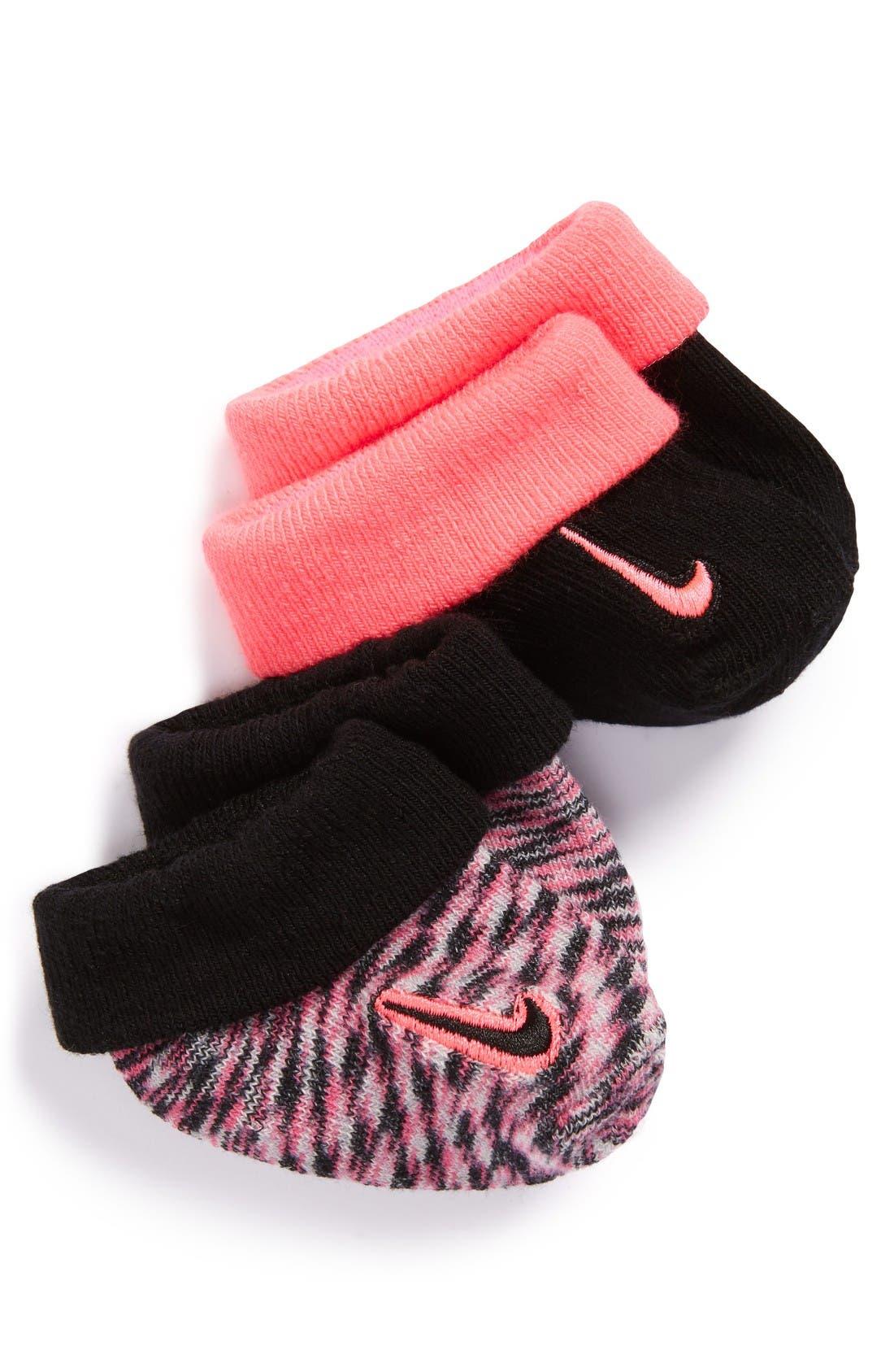 NIKE Baby 2-Pack Bootie Socks