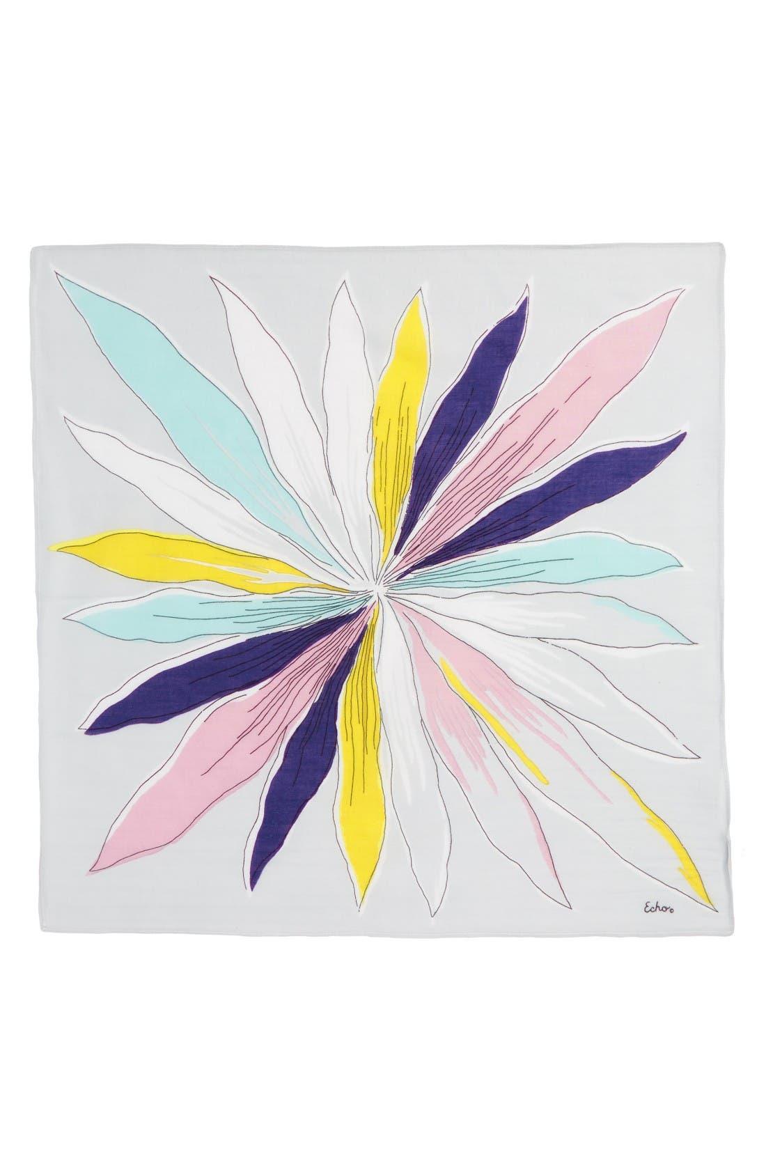 Alternate Image 2  - Echo Floral Cotton Scarf