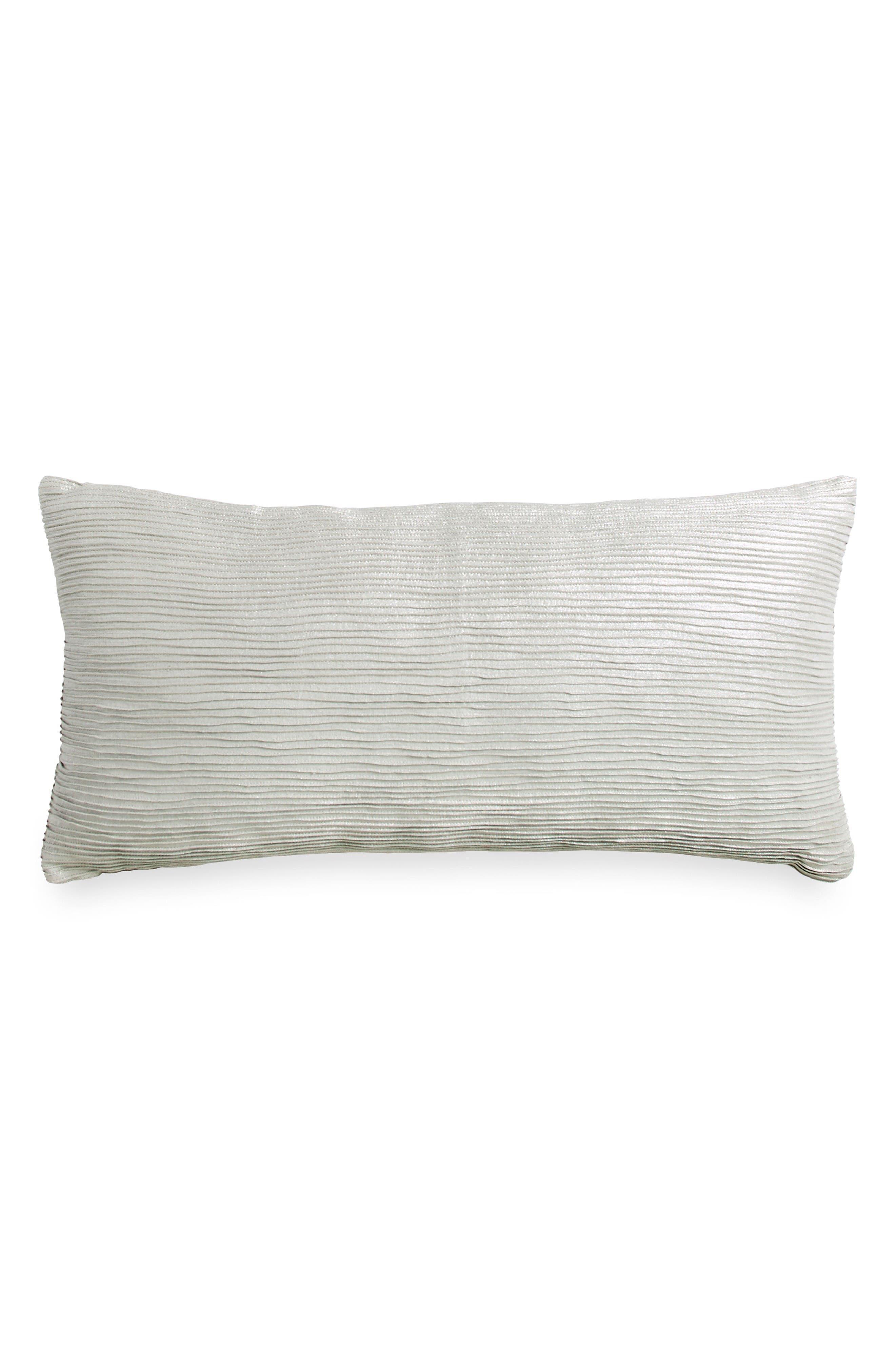 Tidal Accent Pillow,                             Main thumbnail 1, color,                             Silver