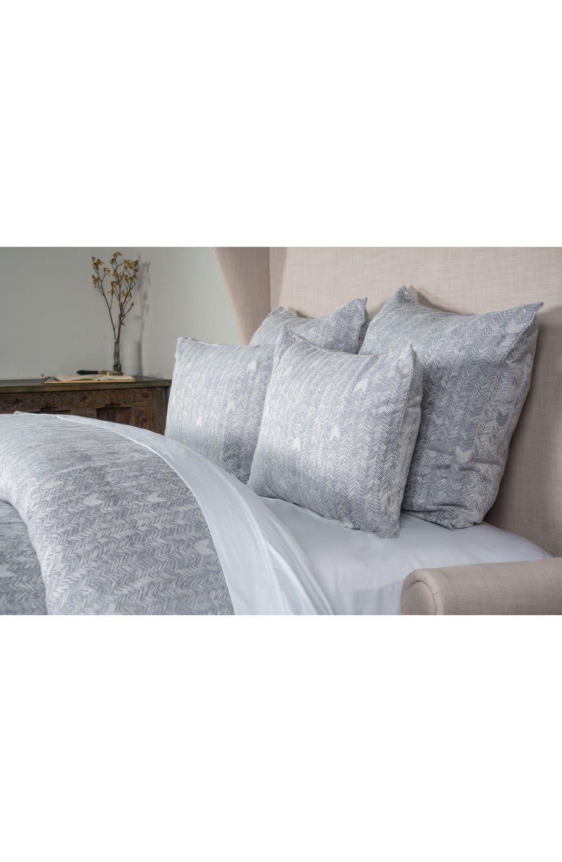 Duvet Cover,                         Main,                         color, Soft Blue/ White