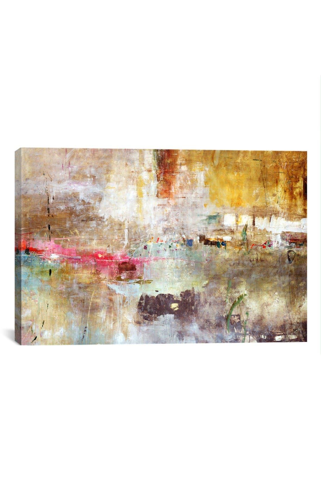 'Rain Clouds - Julian Spencer' Giclée Print Canvas Art,                         Main,                         color, Beige