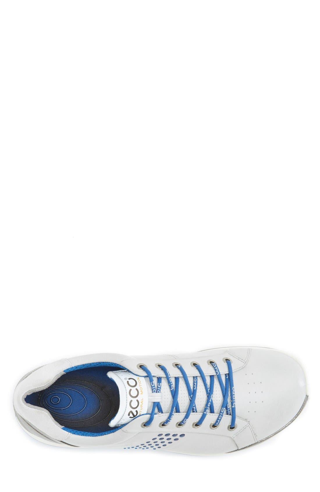 BIOM Hybrid 2 Golf Shoe,                             Alternate thumbnail 3, color,                             Concrete/ Royal